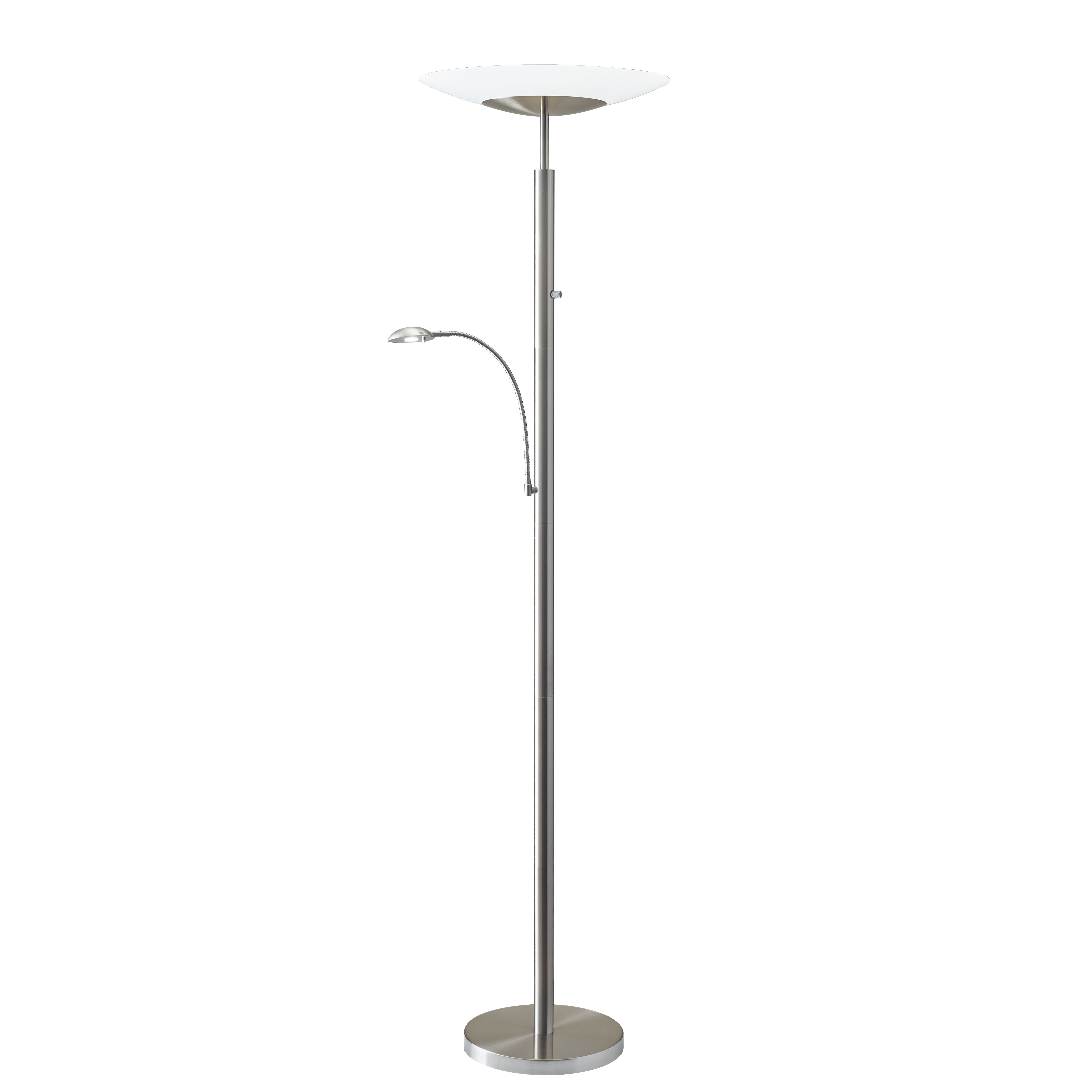 Adesso stellar 72quot led torchiere floor lamp wayfair for Adesso remote control torchiere floor lamp
