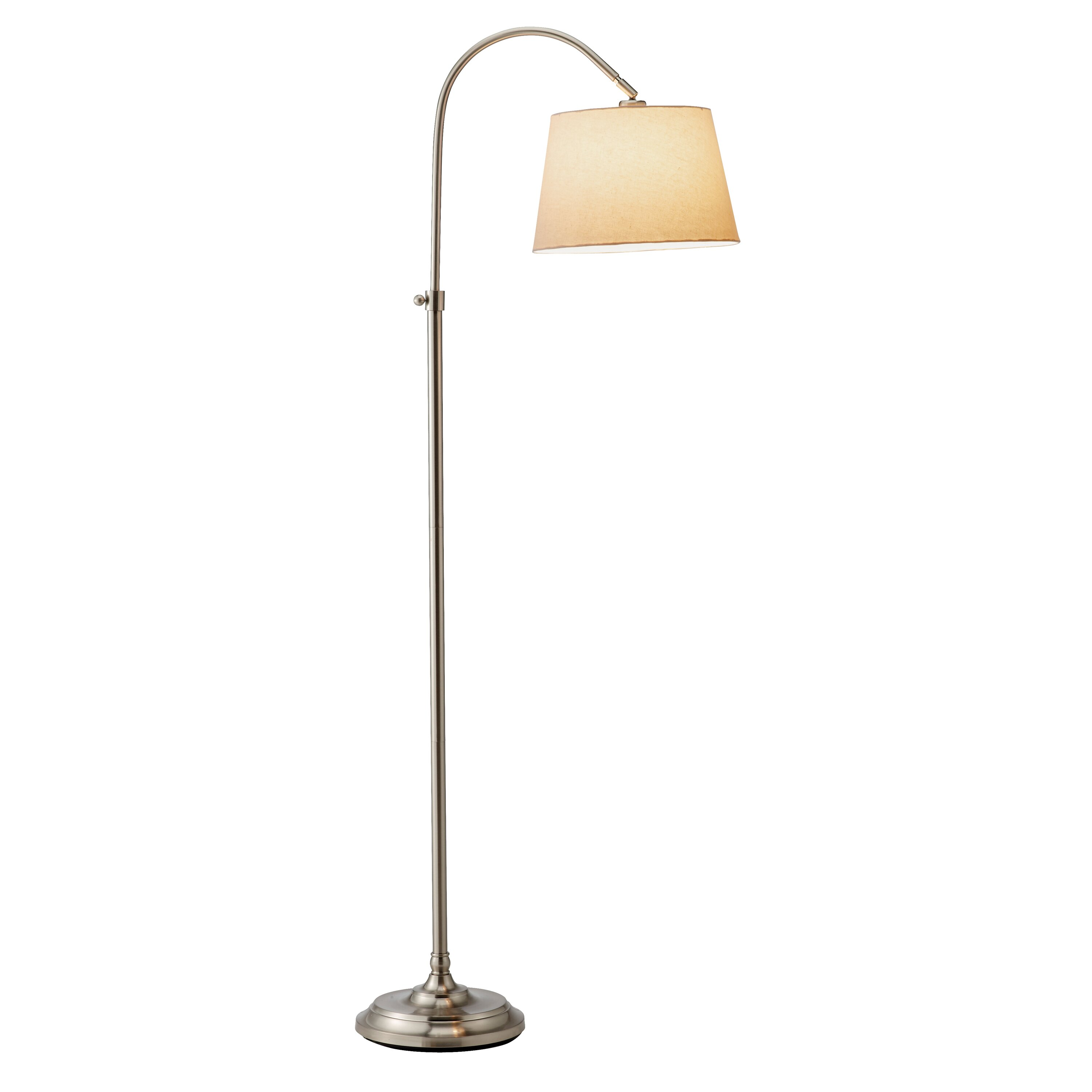 Adesso bonnet 62 arched floor lamp reviews wayfair for Arch floor lamps for living room