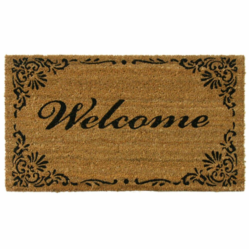 Rubber Cal Inc Classic American Welcome Doormat