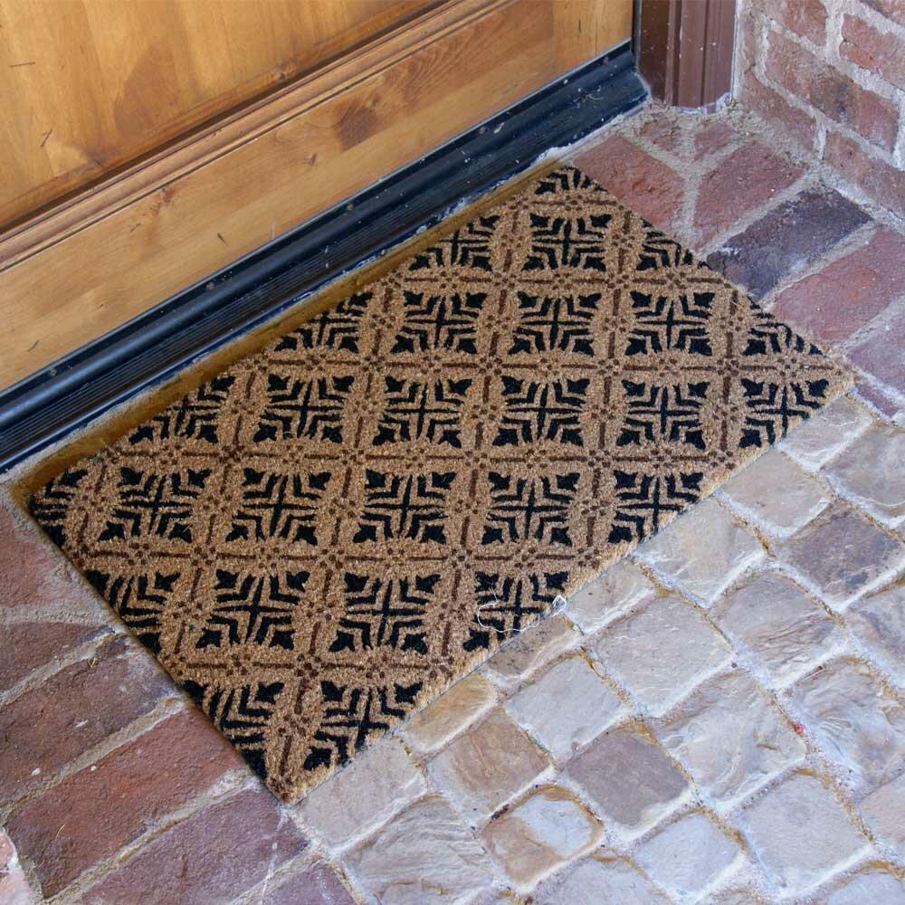 Rubber Cal Inc Classic Fleur De Lis French Home Doormat Reviews Wayfair