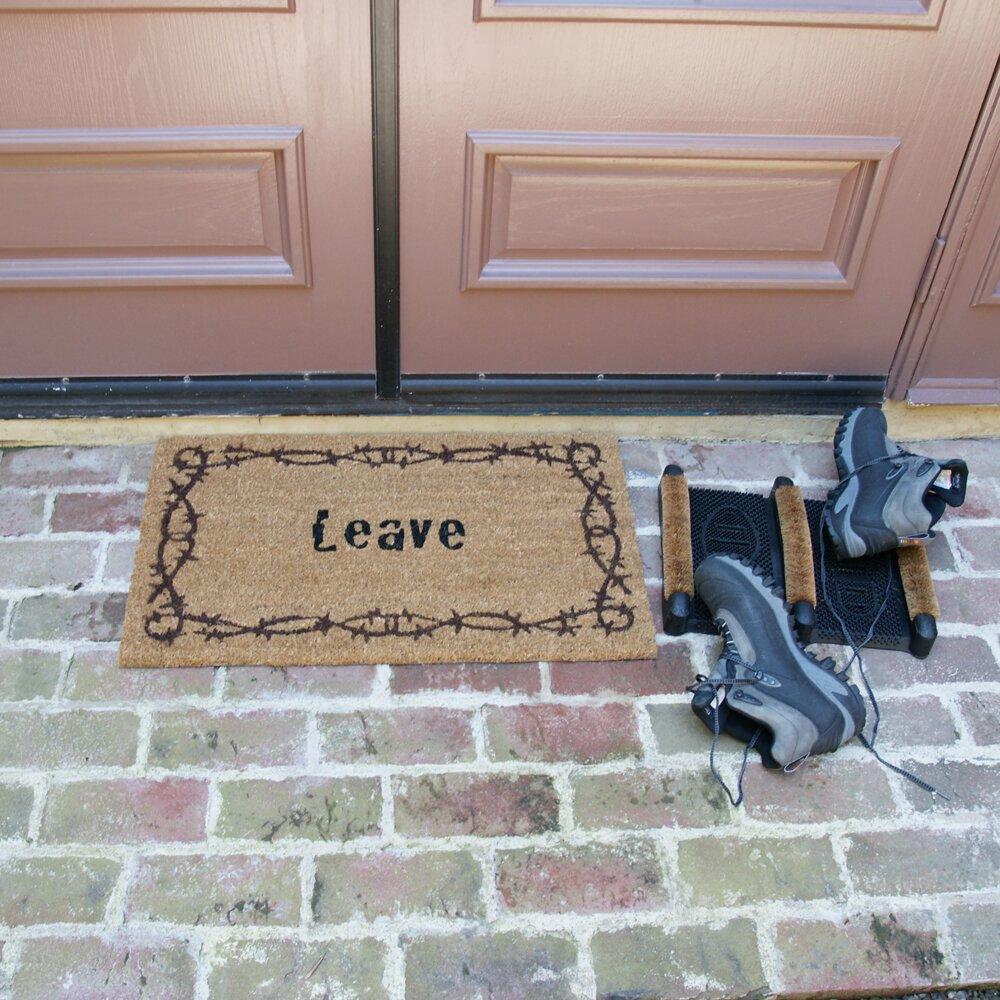 Rubber Cal Inc 3 Piece Funny Doormat Set Wayfair