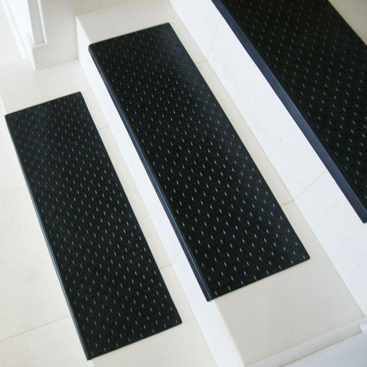Rubber Cal Inc Quot Diamond Plate Quot Step Non Slip Rubber