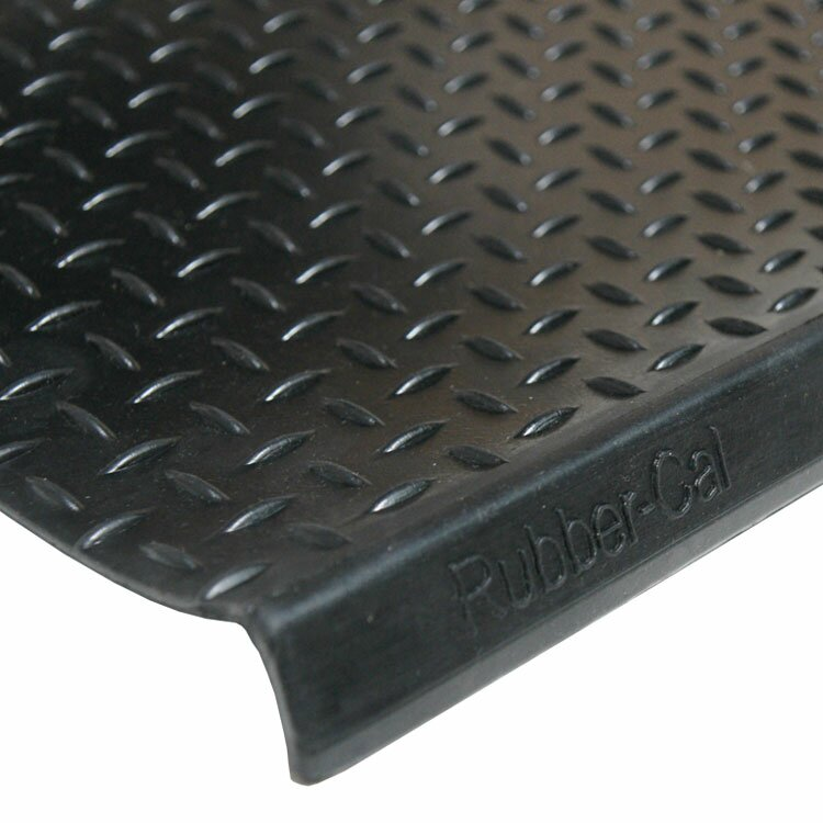Rubber Cal Inc Diamond Plate Step Non Slip Rubber