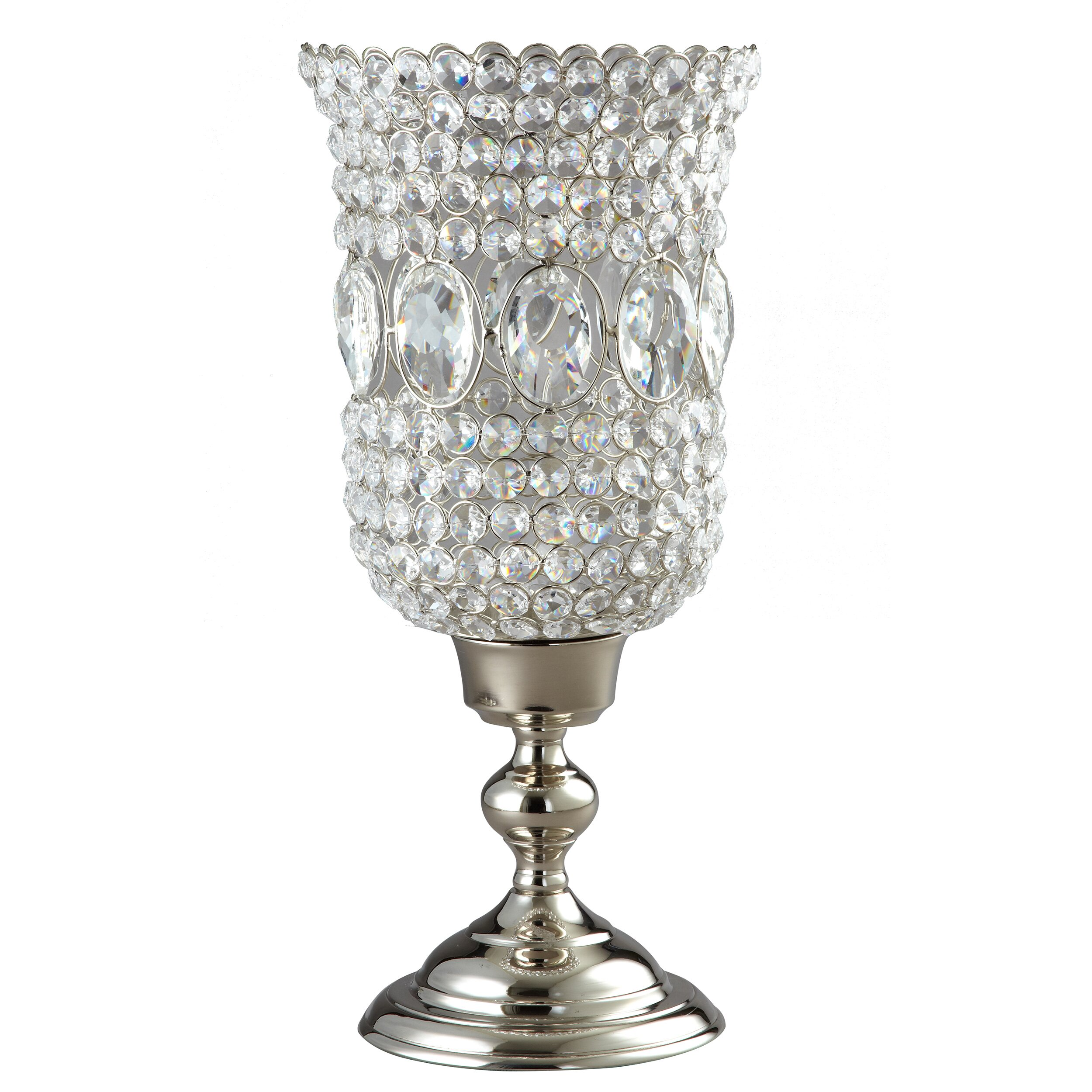 Silver Candle Holders Elegance Silver 12 Quot Sparkle