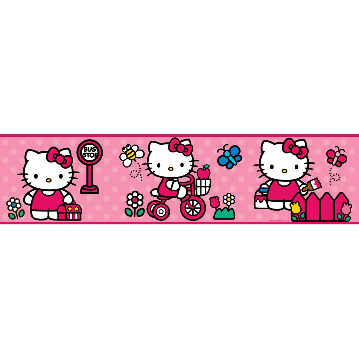 Wallhogs Hello Kitty Room Makeover Wall Decal Reviews