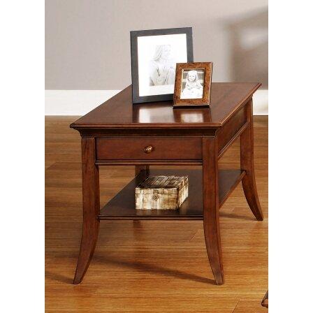schaefferamericanhome irmel side table wayfair uk. Black Bedroom Furniture Sets. Home Design Ideas