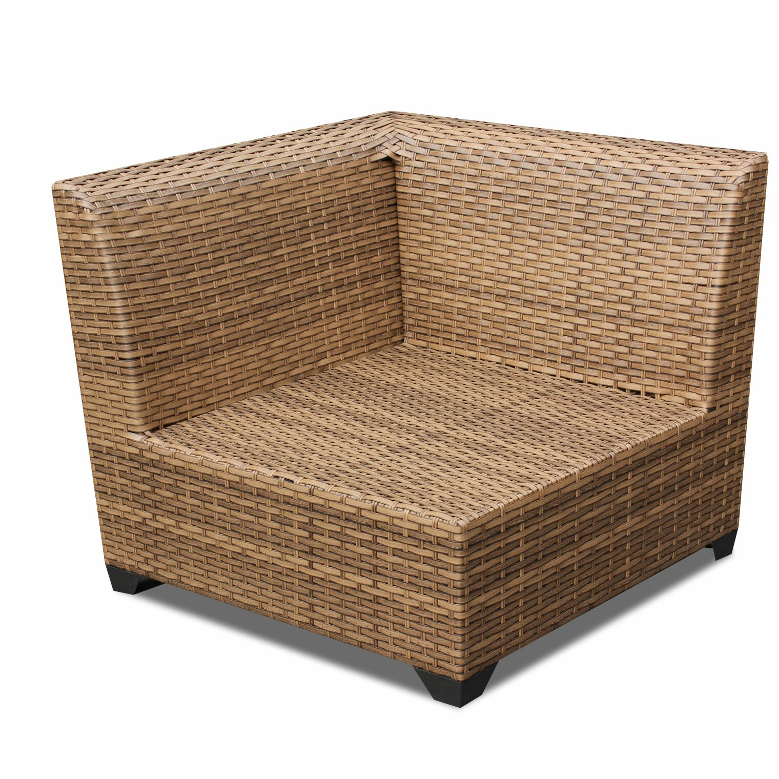 TK Classics Laguna Outdoor Wicker Patio 10 Piece Deep Seating Group With Cush