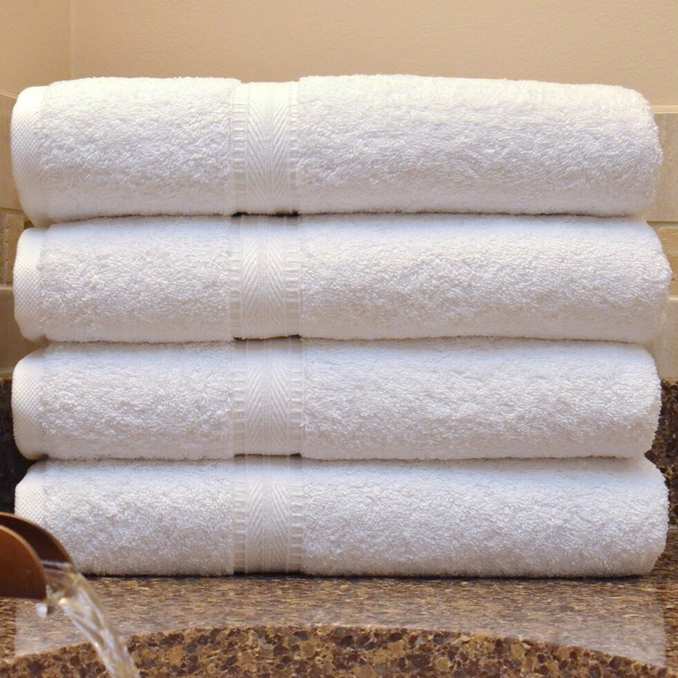 Lunasidus bergamo luxury hotel spa bath turkish cotton for Hotel sheets and towels
