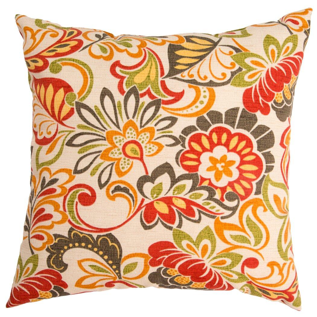 Swan Dye and Printing Zoe Throw Pillow & Reviews Wayfair