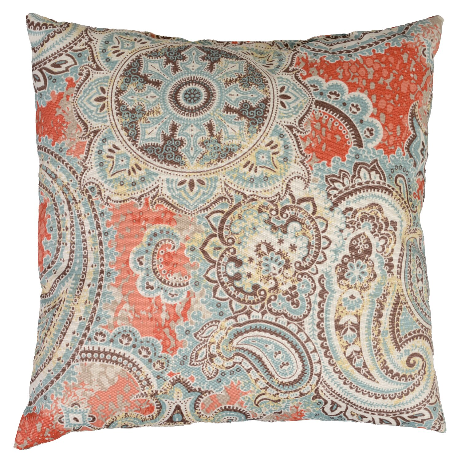 Wayfair Blue Decorative Pillows : Swan Dye and Printing Houssie Throw Pillow & Reviews Wayfair