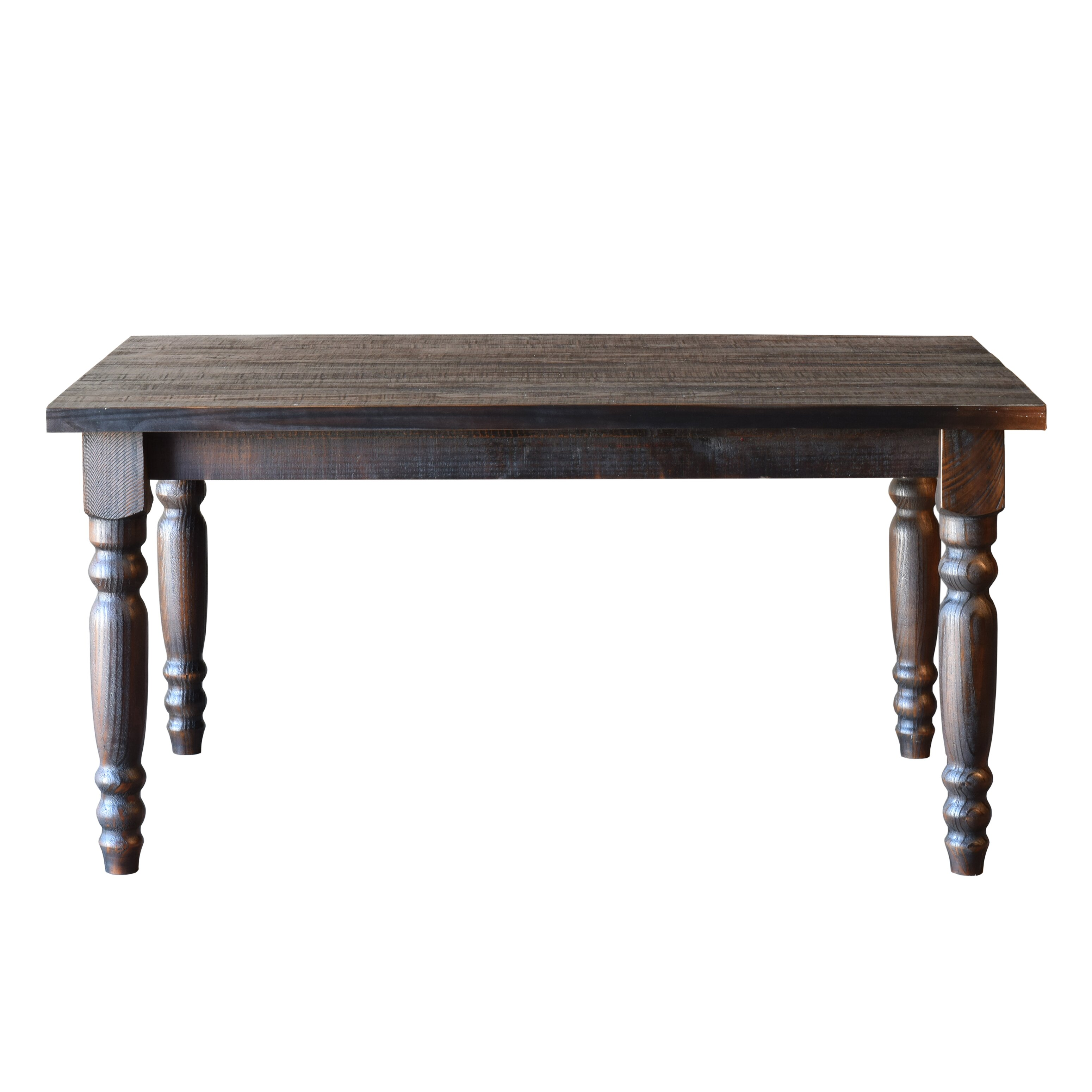 Grain wood furniture valerie dining table reviews wayfair for On the dining table