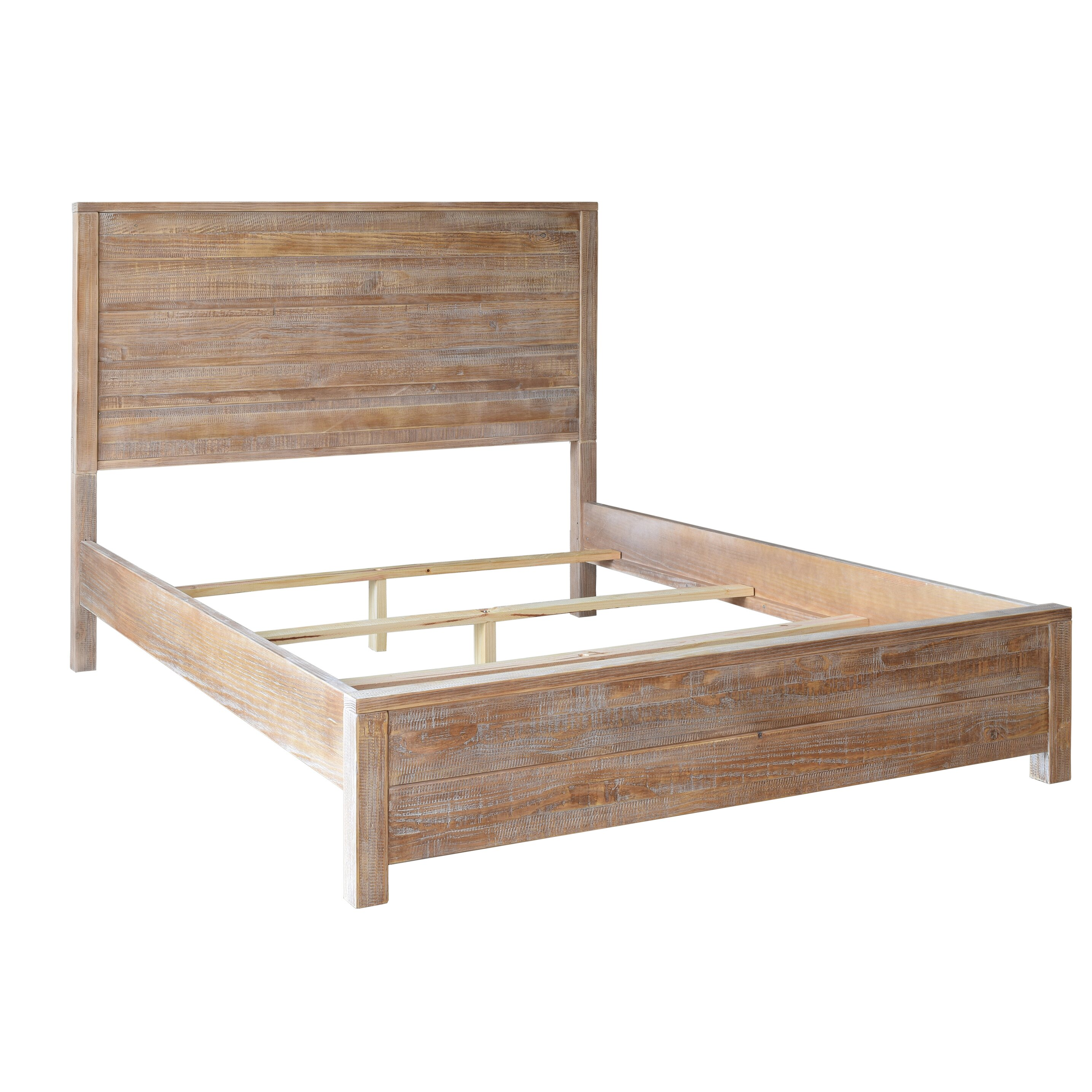 Wonderful image of Grain Wood Furniture Montauk Panel Bed & Reviews Wayfair with #8B6040 color and 2870x2870 pixels
