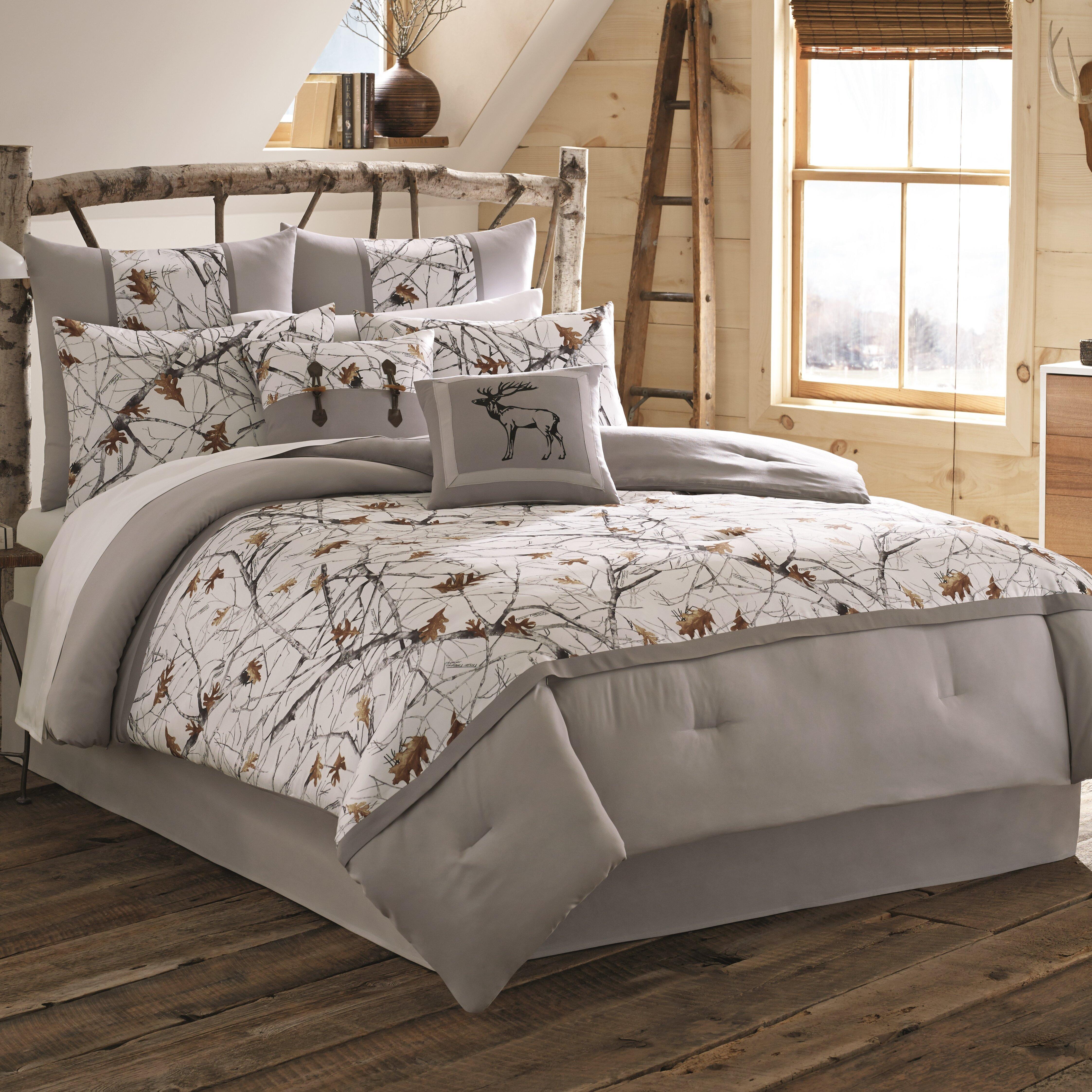 true timber snowfall bedding collection reviews wayfair. Black Bedroom Furniture Sets. Home Design Ideas