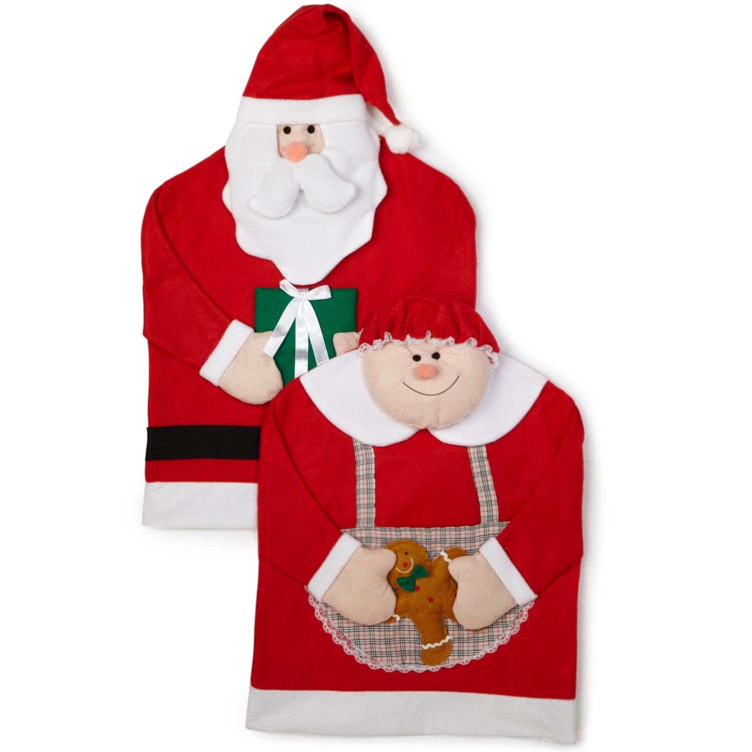 Imperial Home Mr And Mrs Santa Claus Armchair Slipcover