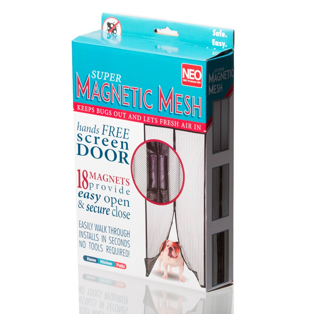 Imperial Home Magic Mesh Magnetic Screen Door With