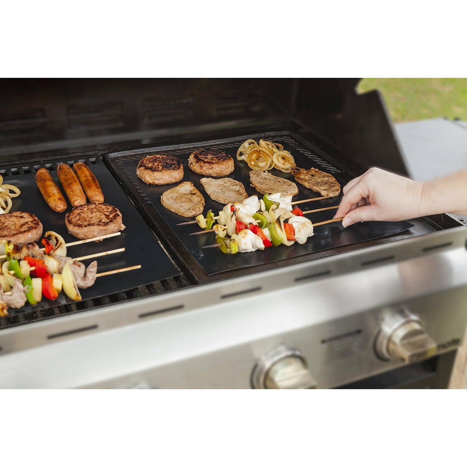 Imperial Home Reusable Non Stick Bbq Grill Mat Amp Reviews