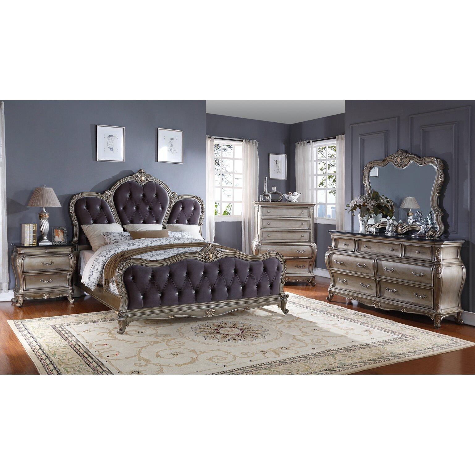 Meridian Furniture Usa Roma 2 Drawer Nightstand Reviews Wayfair