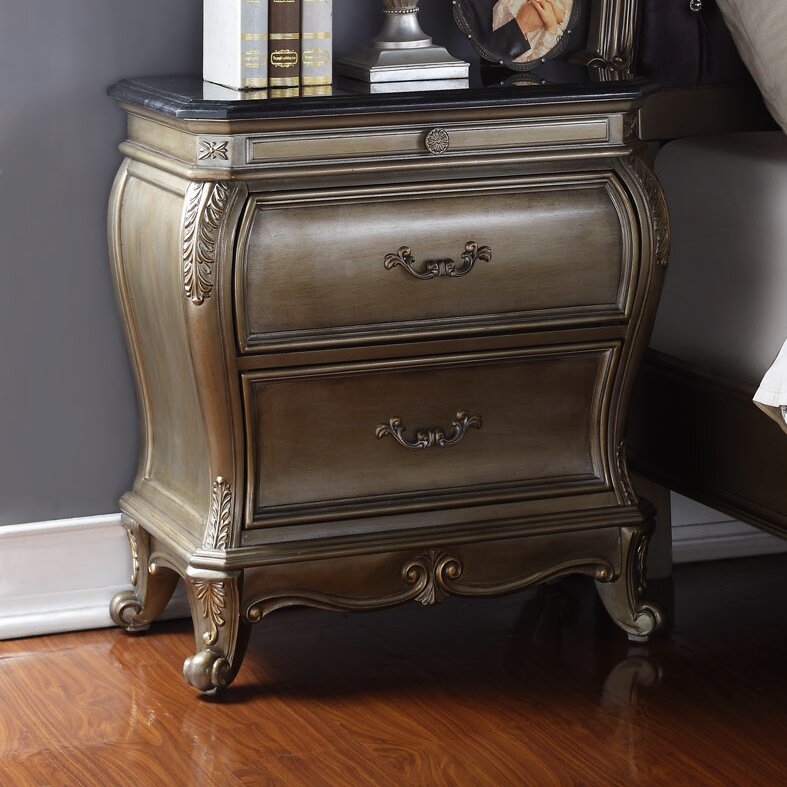 Meridian furniture usa roma 2 drawer nightstand reviews for J furniture usa reviews
