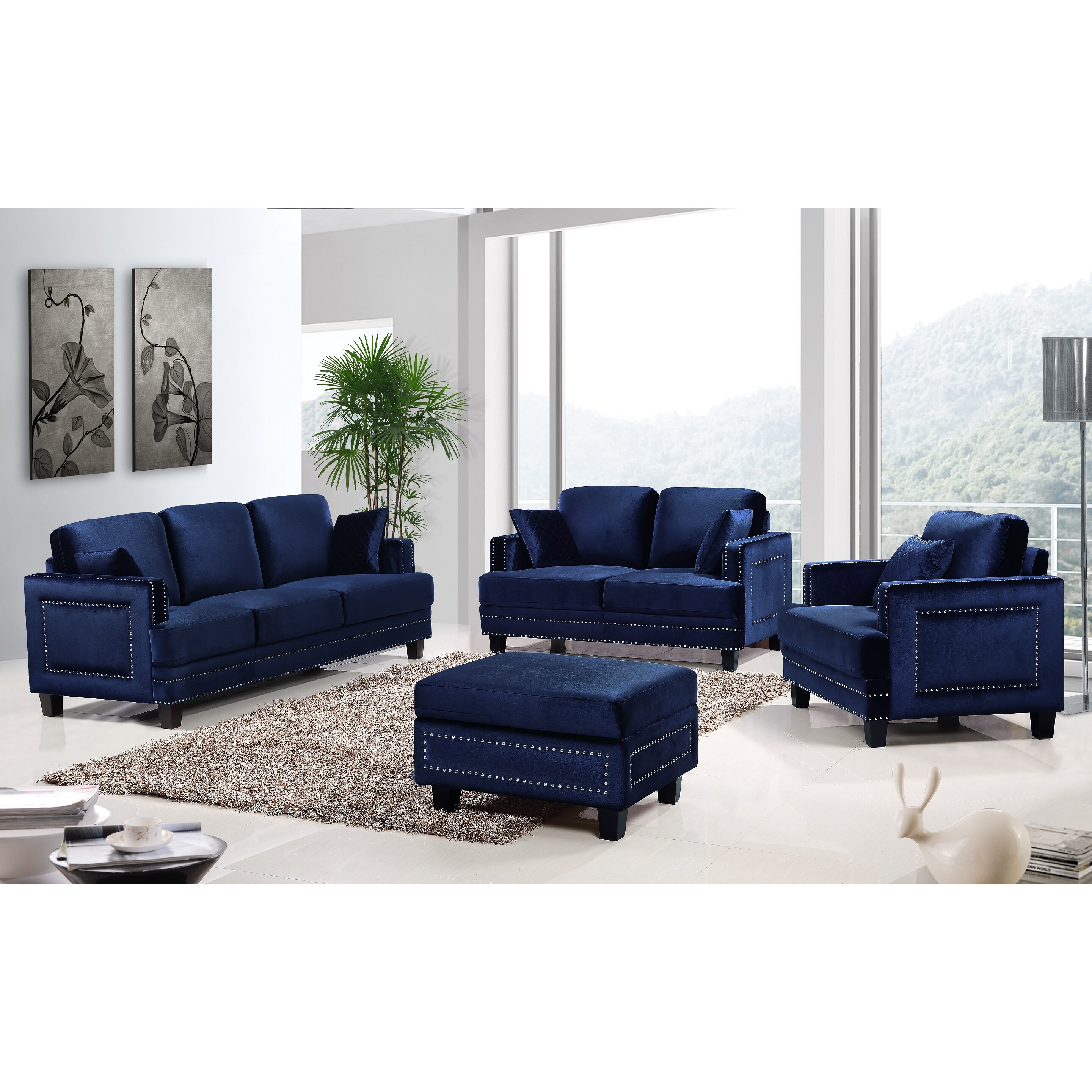 Meridian furniture usa ferrara nailhead loveseat reviews for J furniture usa reviews