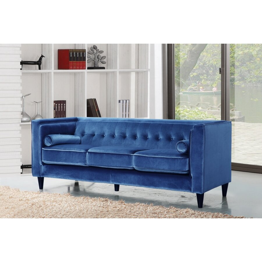 Meridian furniture usa taylor velvet sofa reviews wayfair for J furniture usa reviews