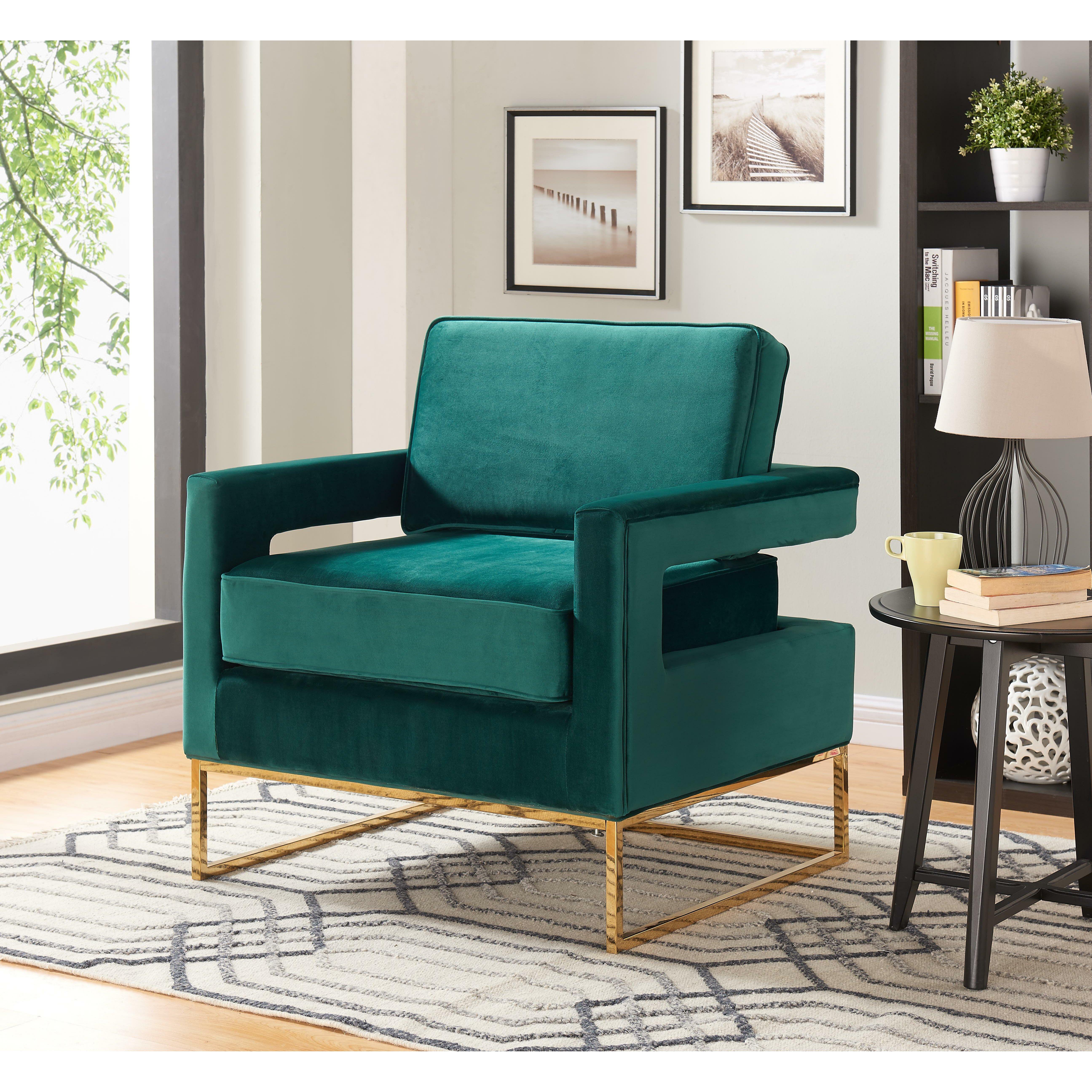 Meridian Furniture Usa Noah Arm Chair Reviews Wayfair