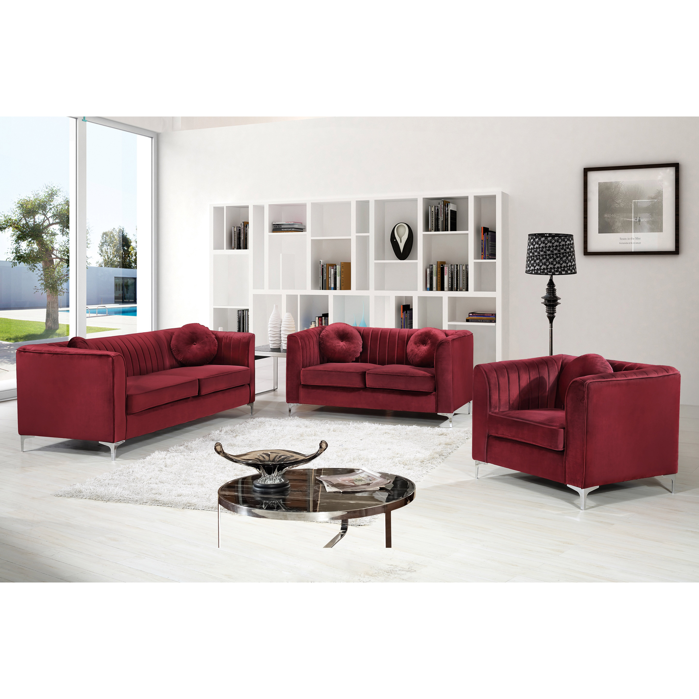 Meridian Furniture Usa Isabelle Loveseat Wayfair