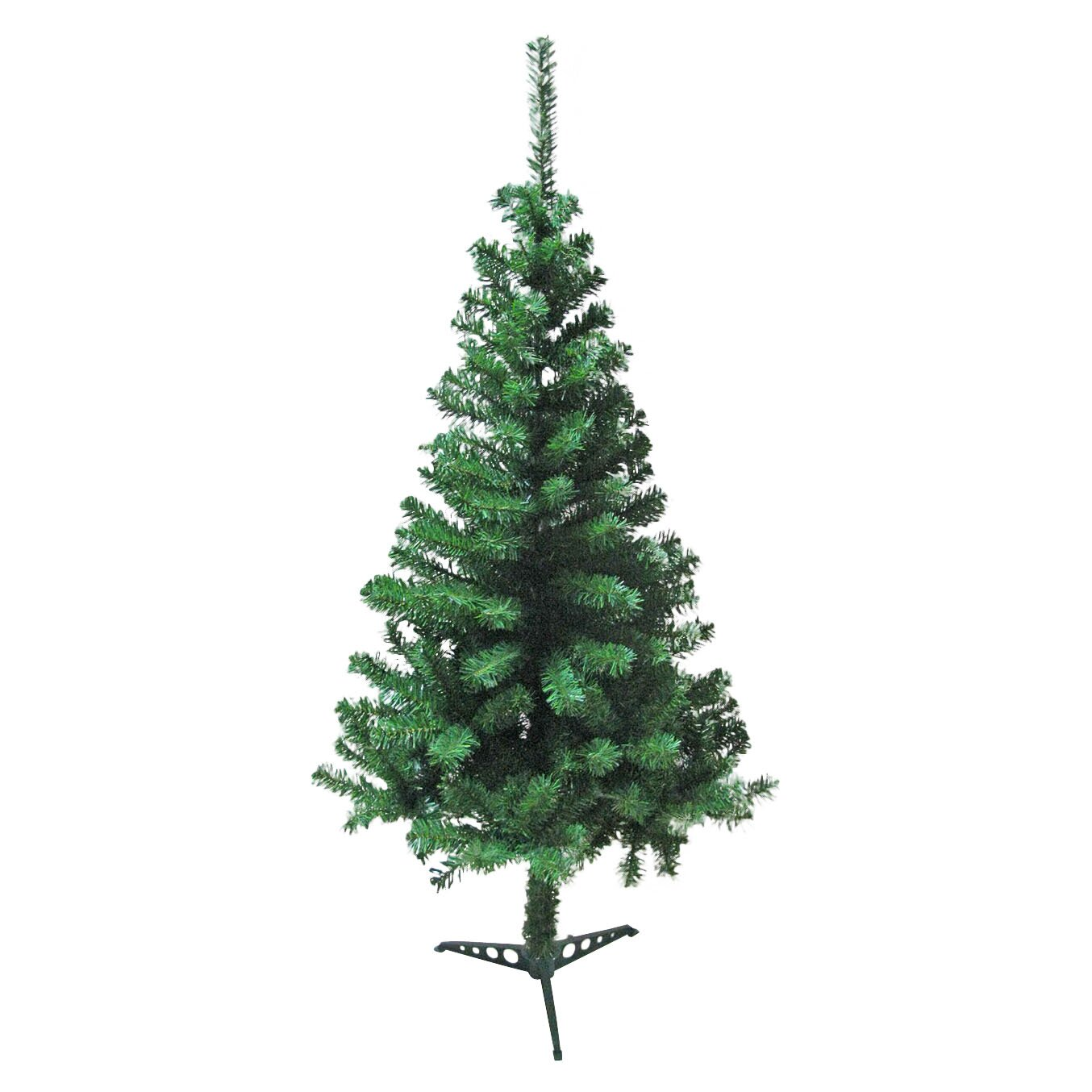 Most Realistic Artificial Christmas Tree Reviews: TrailWorthy 4' Green Artificial Christmas Tree & Reviews