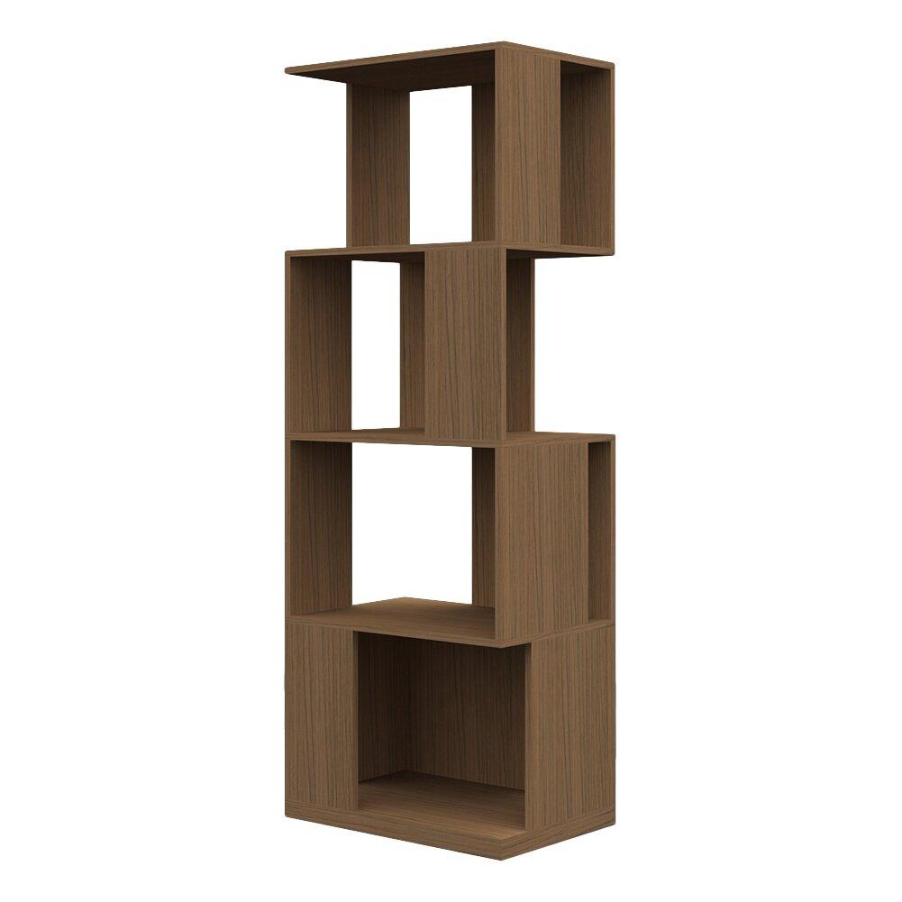 Argo furniture 65 accent shelves bookcase reviews wayfair for Furniture 65