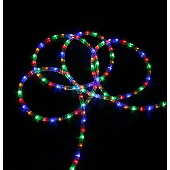 northlight led indoor outdoor christmas rope light reviews wayfair