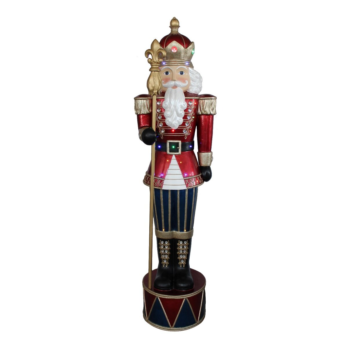Northlight Led Lighted Commercial Grade Jeweled Nutcracker