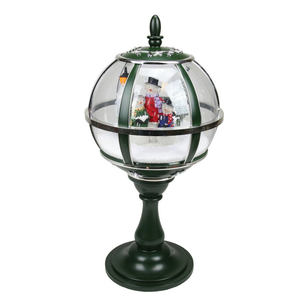 Northlight Musical Snowing Snowman Christmas Table Top