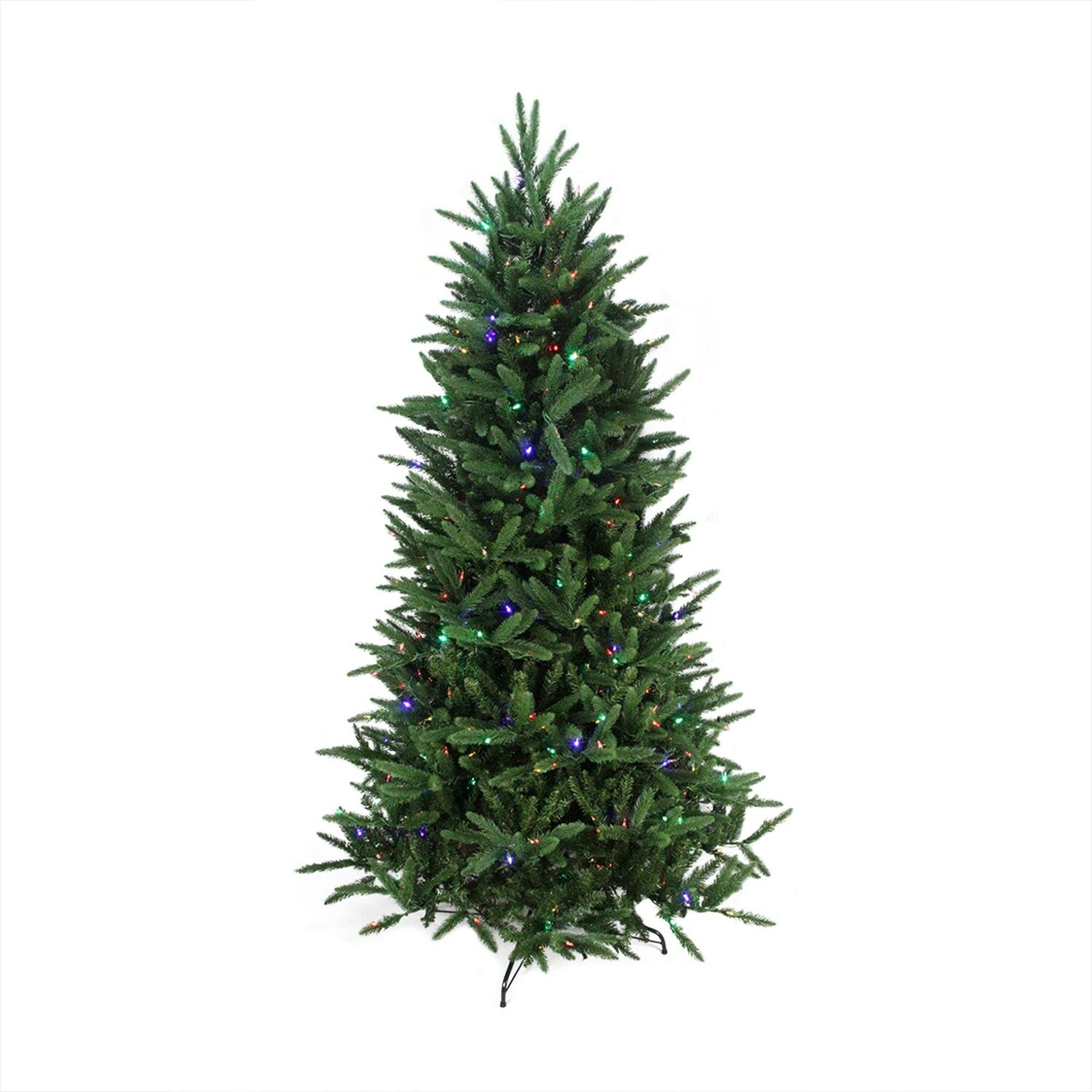 Artificial Christmas Trees: Northlight 7.5' Pine Artificial Christmas Tree With Clear