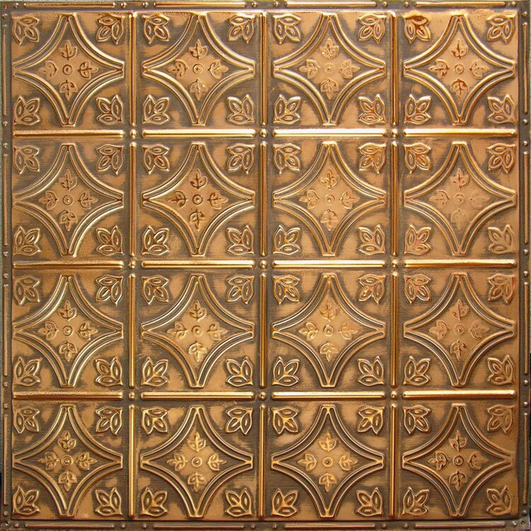 american tin ceilings 24 x 24 metal backsplash panel kit