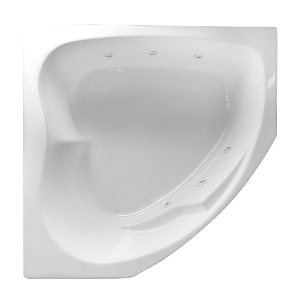 Carver tubs hygienic aqua massage 55 x 55 whirlpool bathtub - Aqua whirlpools ...
