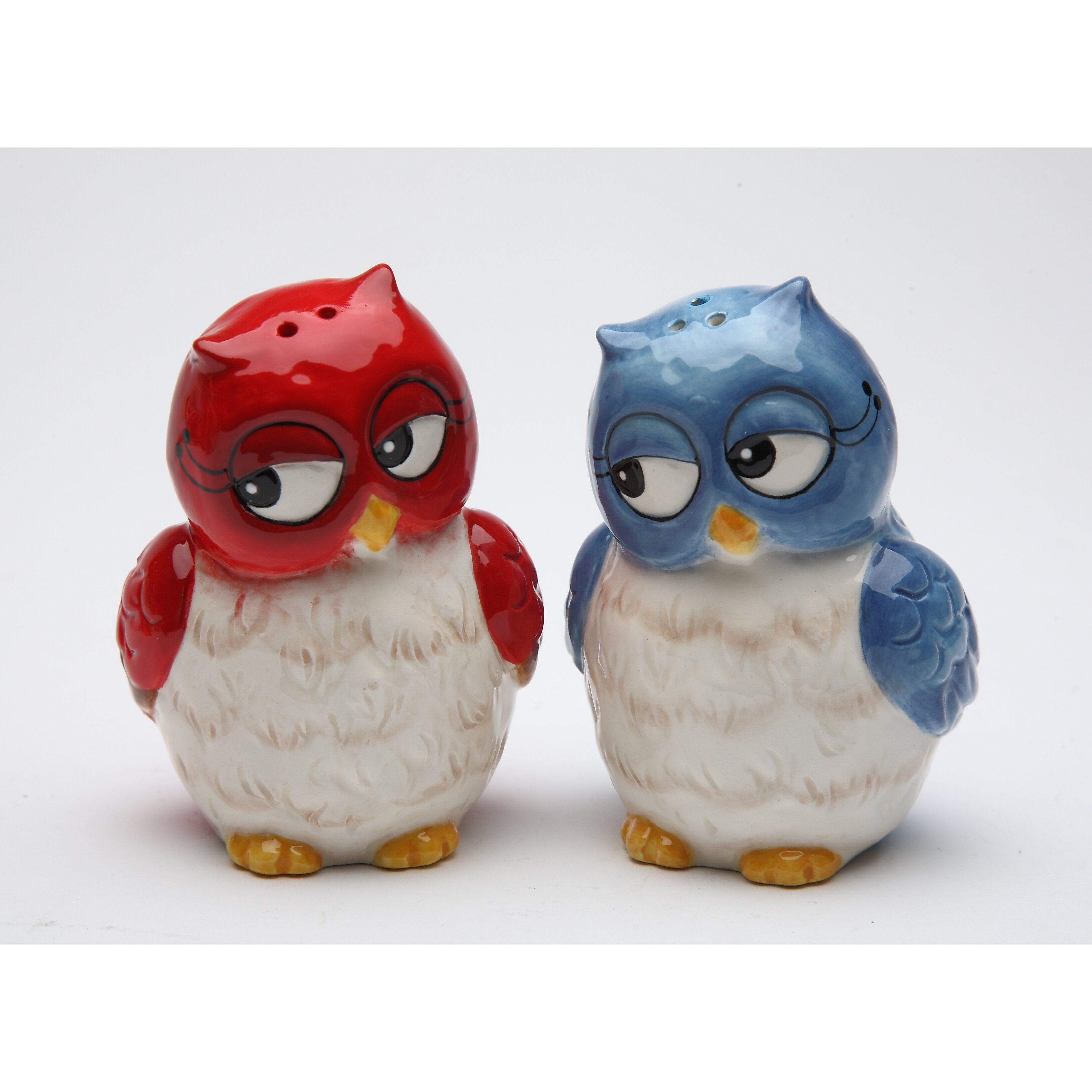 Cosmosgifts Couple Owls Salt And Pepper Set Reviews