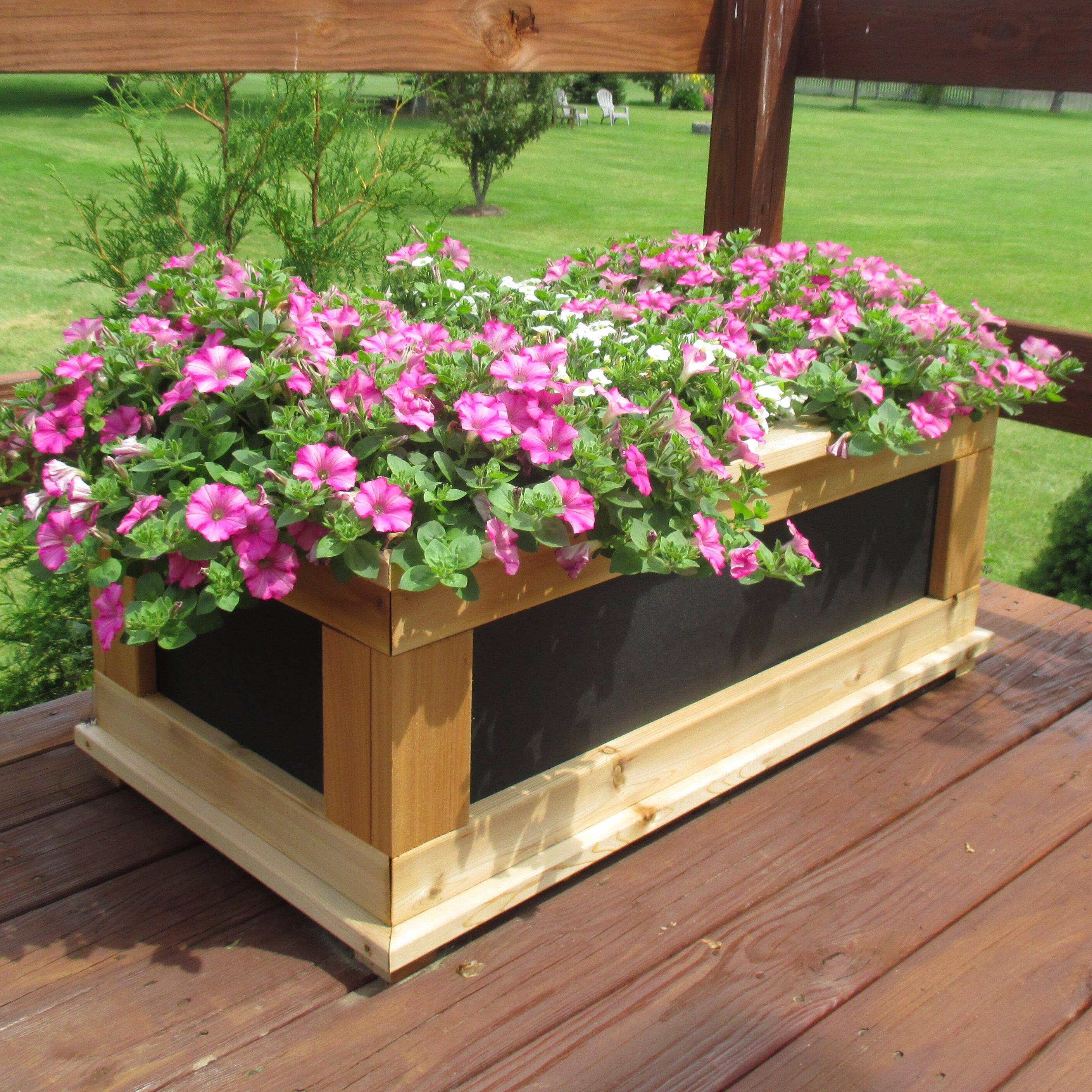 InfiniteCedar Signature Series Rectangular Planter Box