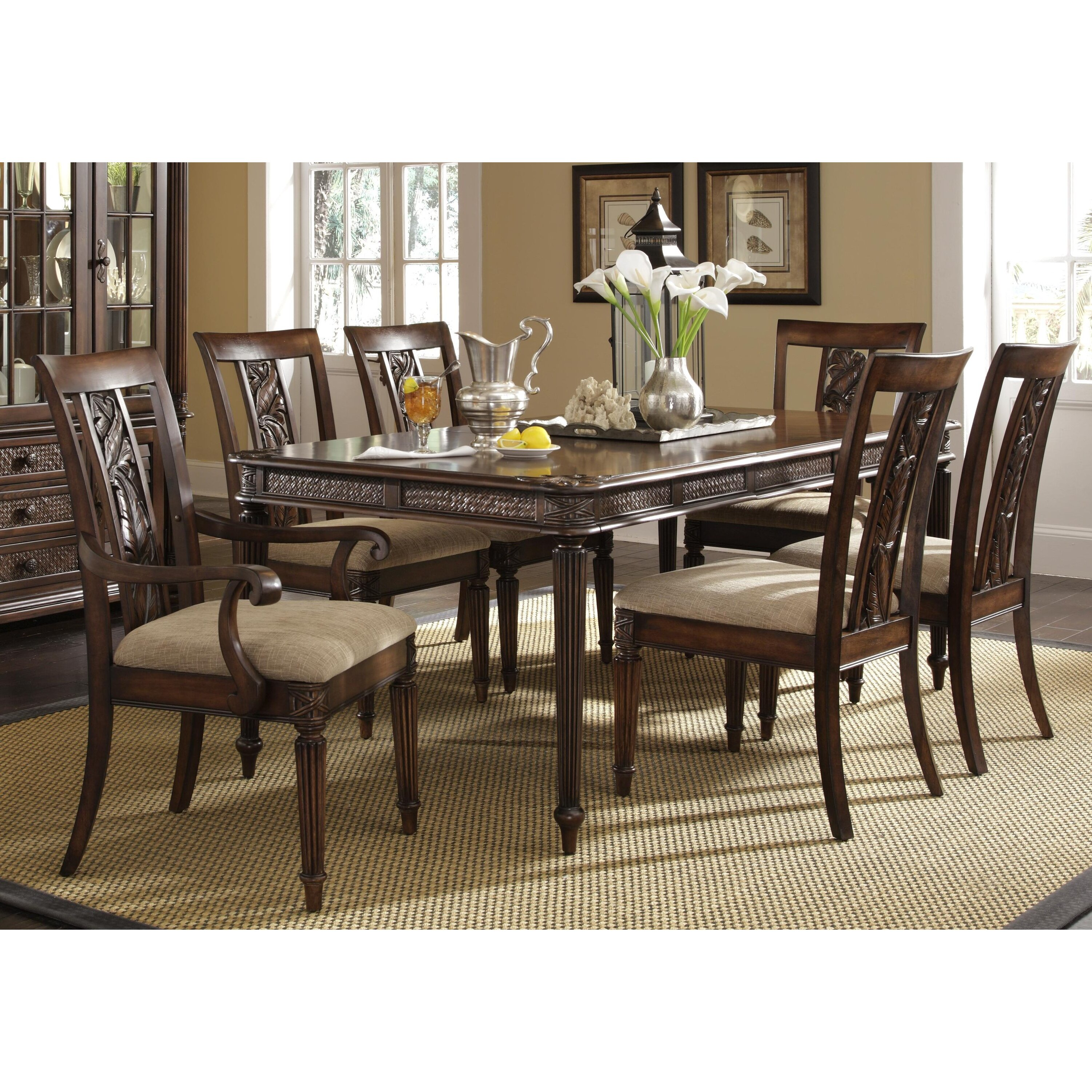 Darby Home Co Palm Court II Extendable Dining Table Wayfair : Palm Court II Extendable Dining Table DBHC1458 from www.wayfair.com size 3001 x 3001 jpeg 1333kB