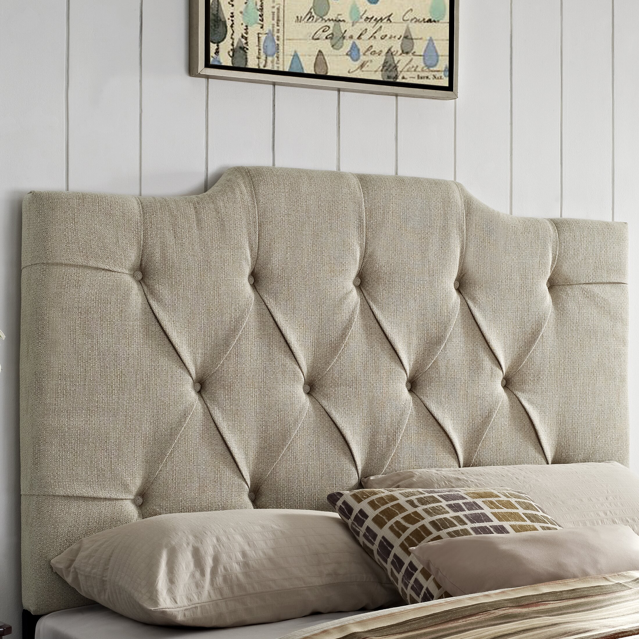 Darby Home Co Martha Upholstered Panel Headboard & Reviews