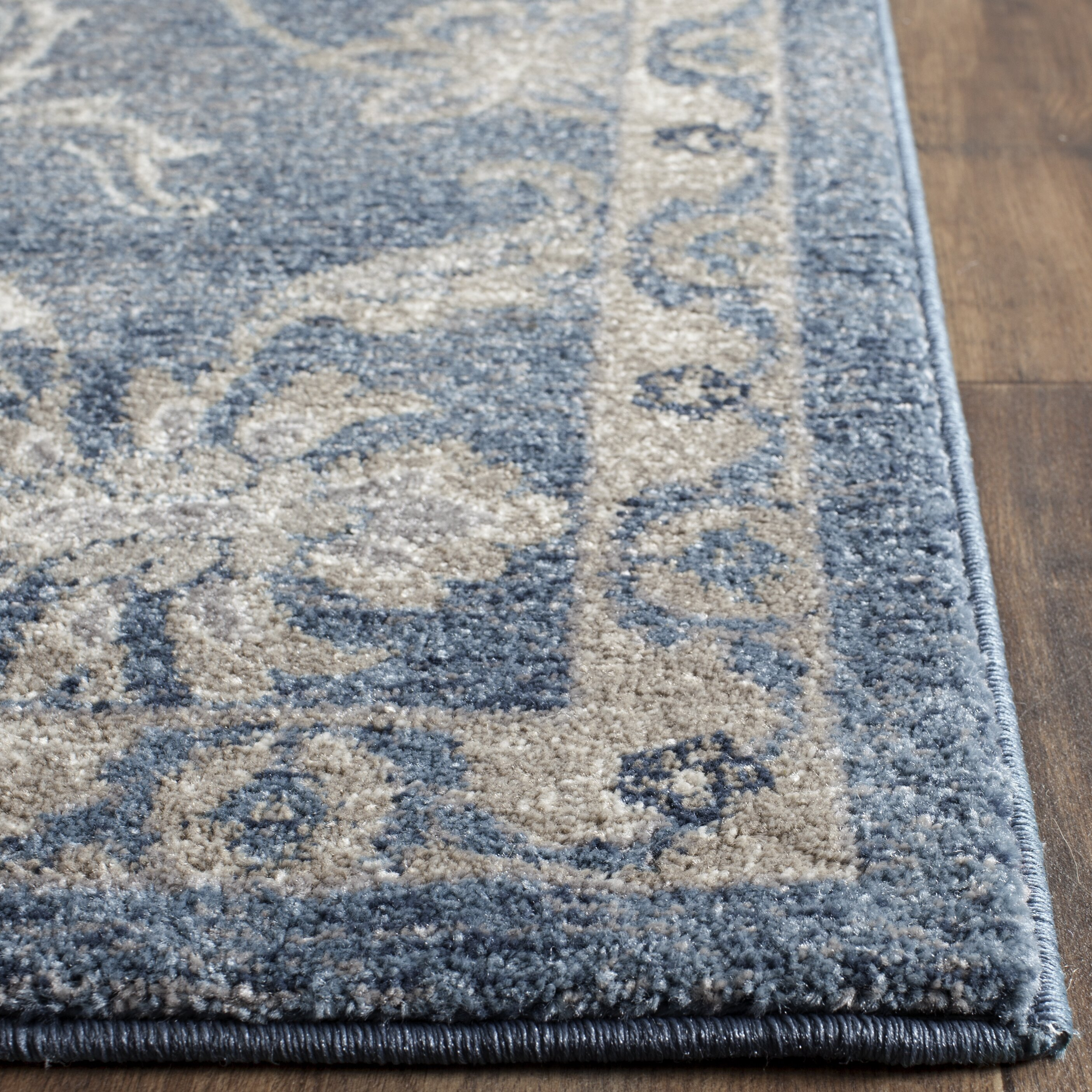 Darby Home Co Sofia Blue Beige Area Rug Amp Reviews Wayfair
