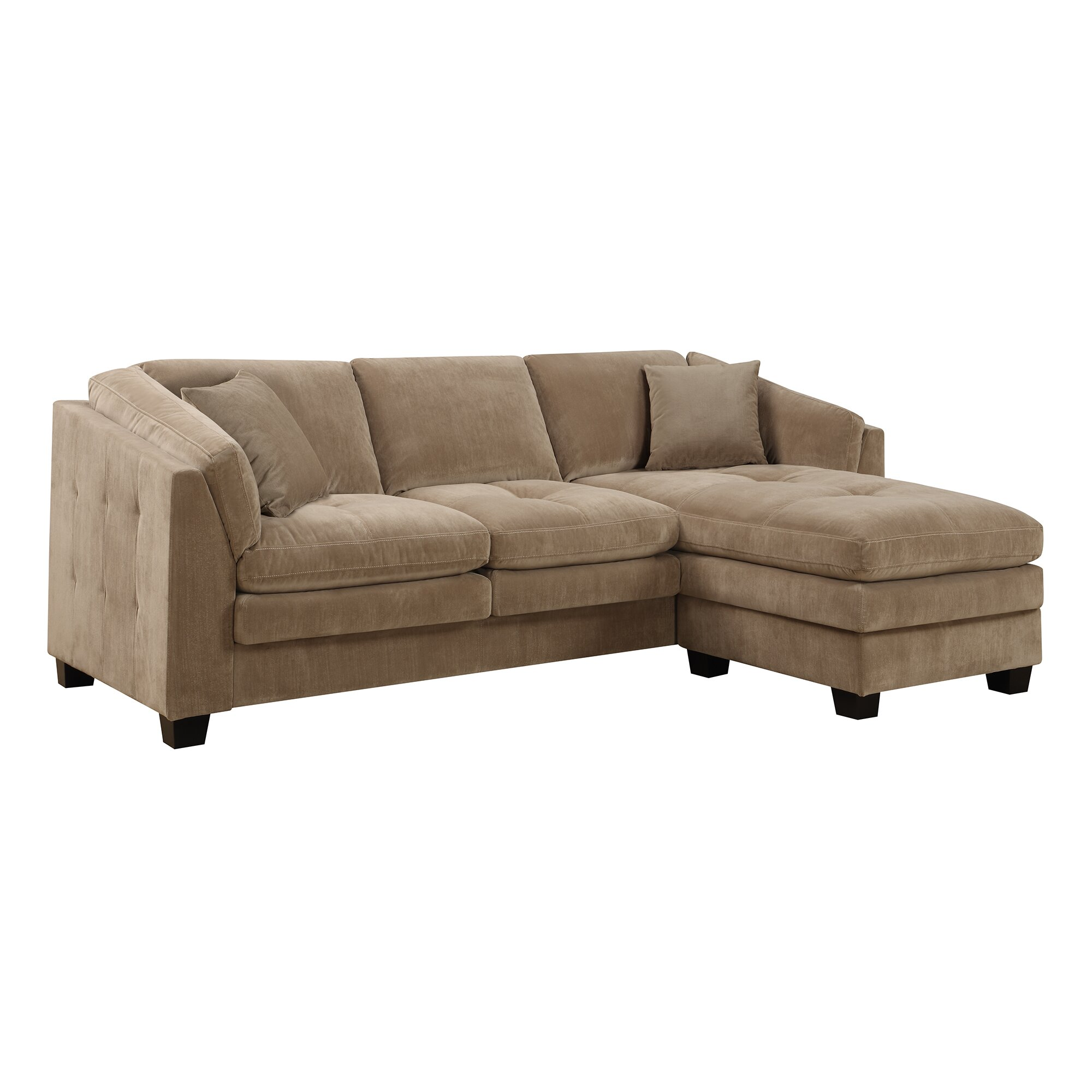 Darby home co modular sectional reviews wayfair for Wayfair sectionals
