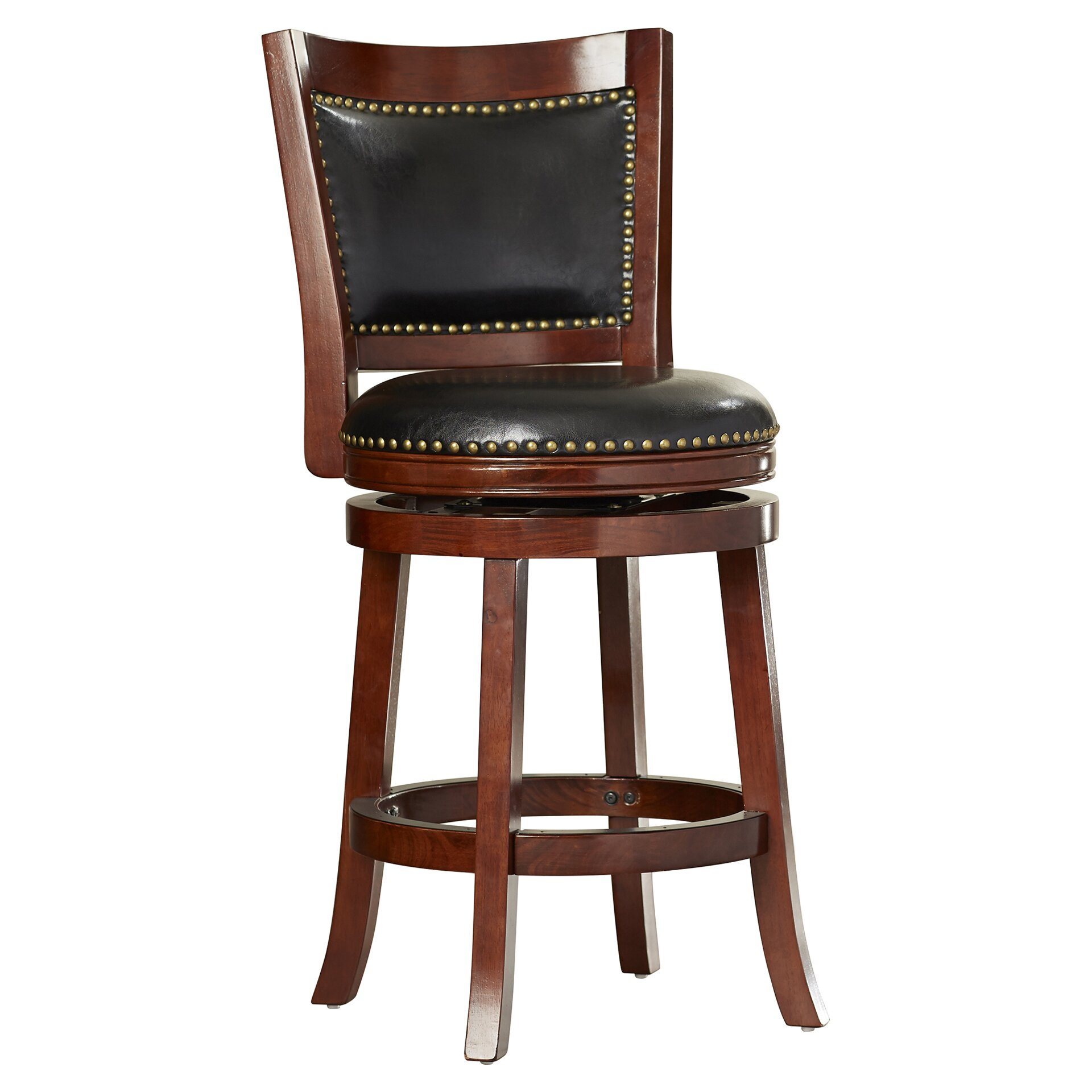 Darby Home Co Carstensen 24 Quot Swivel Bar Stool Amp Reviews