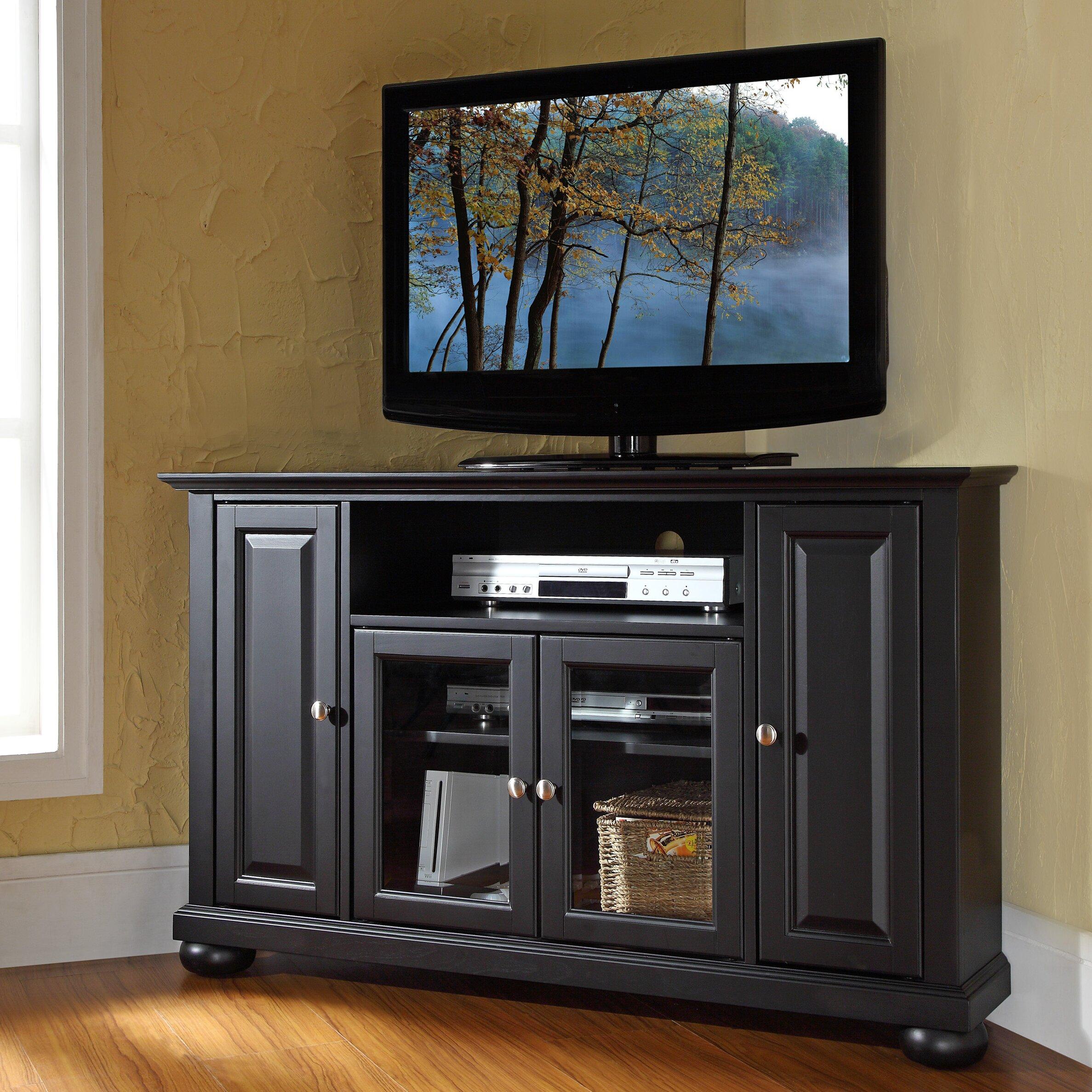 Tv Tables Hernan Tv Unit: Darby Home Co Elvaston Corner TV Stand & Reviews