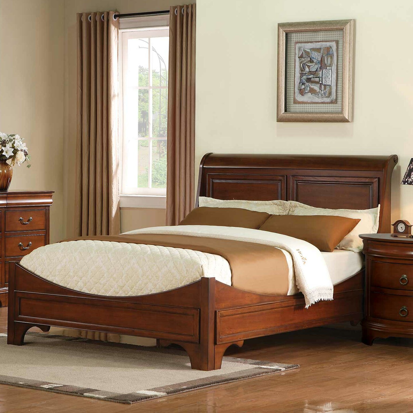 Christmas Tree Shop Poughkeepsie Ny: Darby Home Co Riegel Panel Bed & Reviews