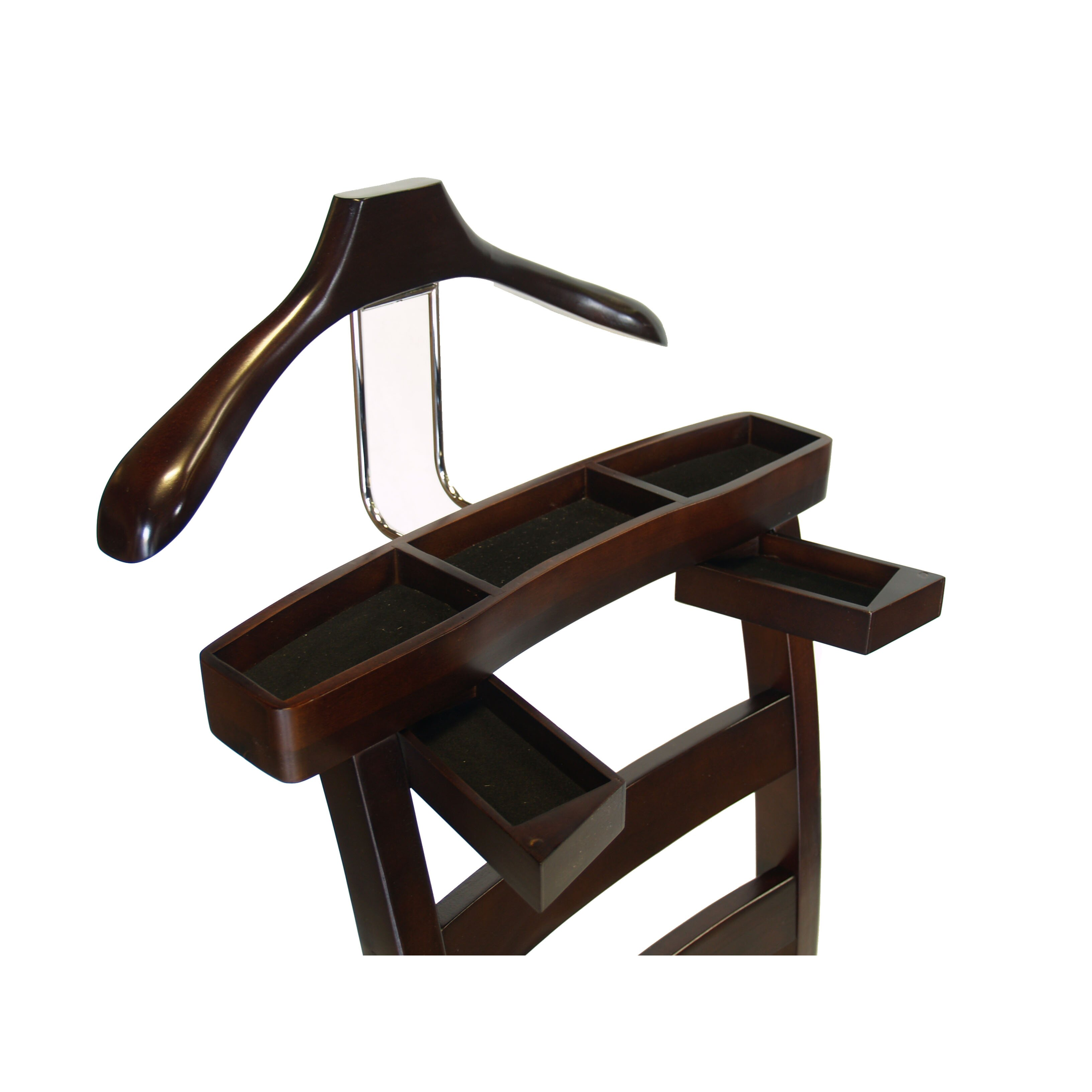 Darby home co chair valet stand reviews wayfair for Stand 2 b