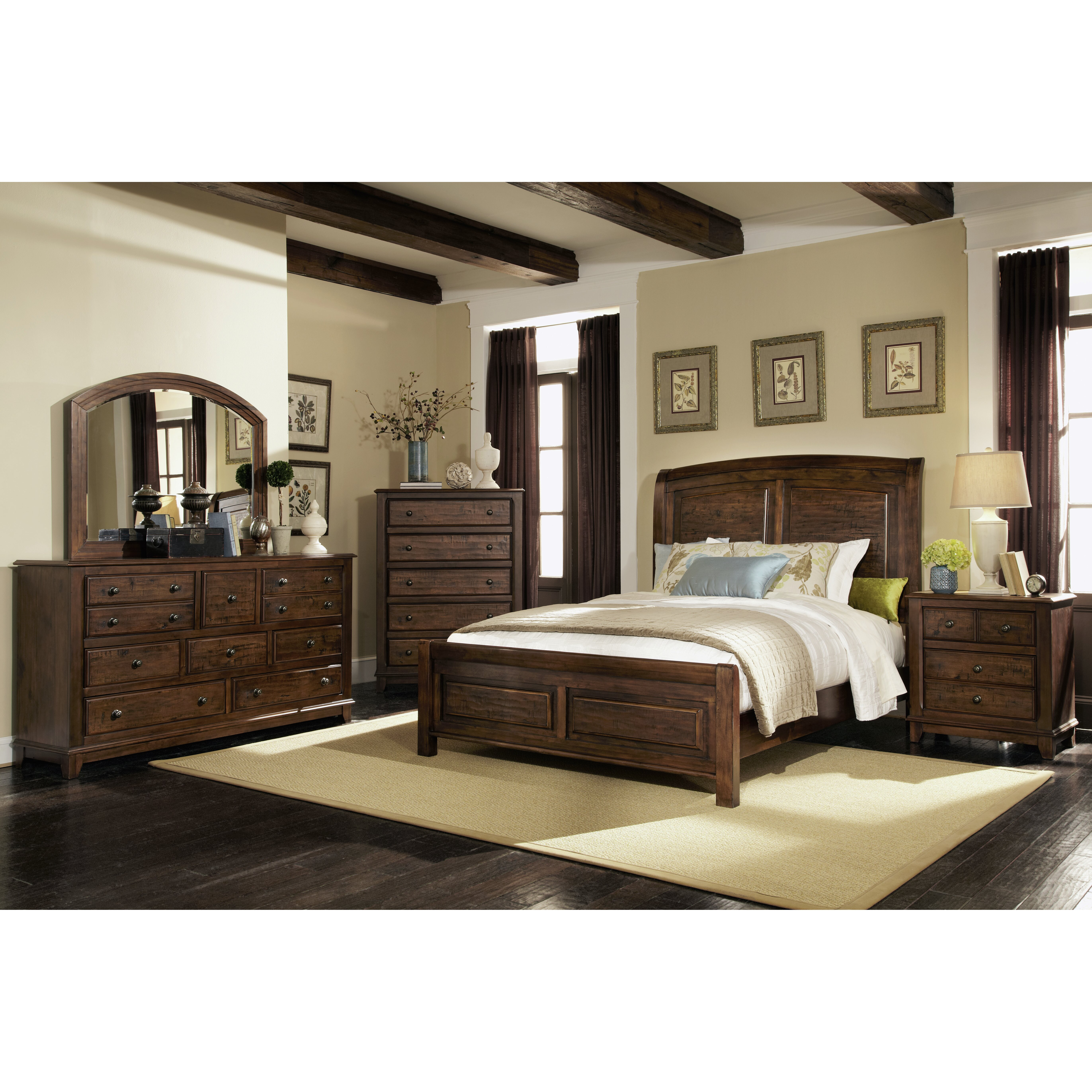 Darby Home Co Queen Panel Customizable Bedroom Set Reviews Wayfair