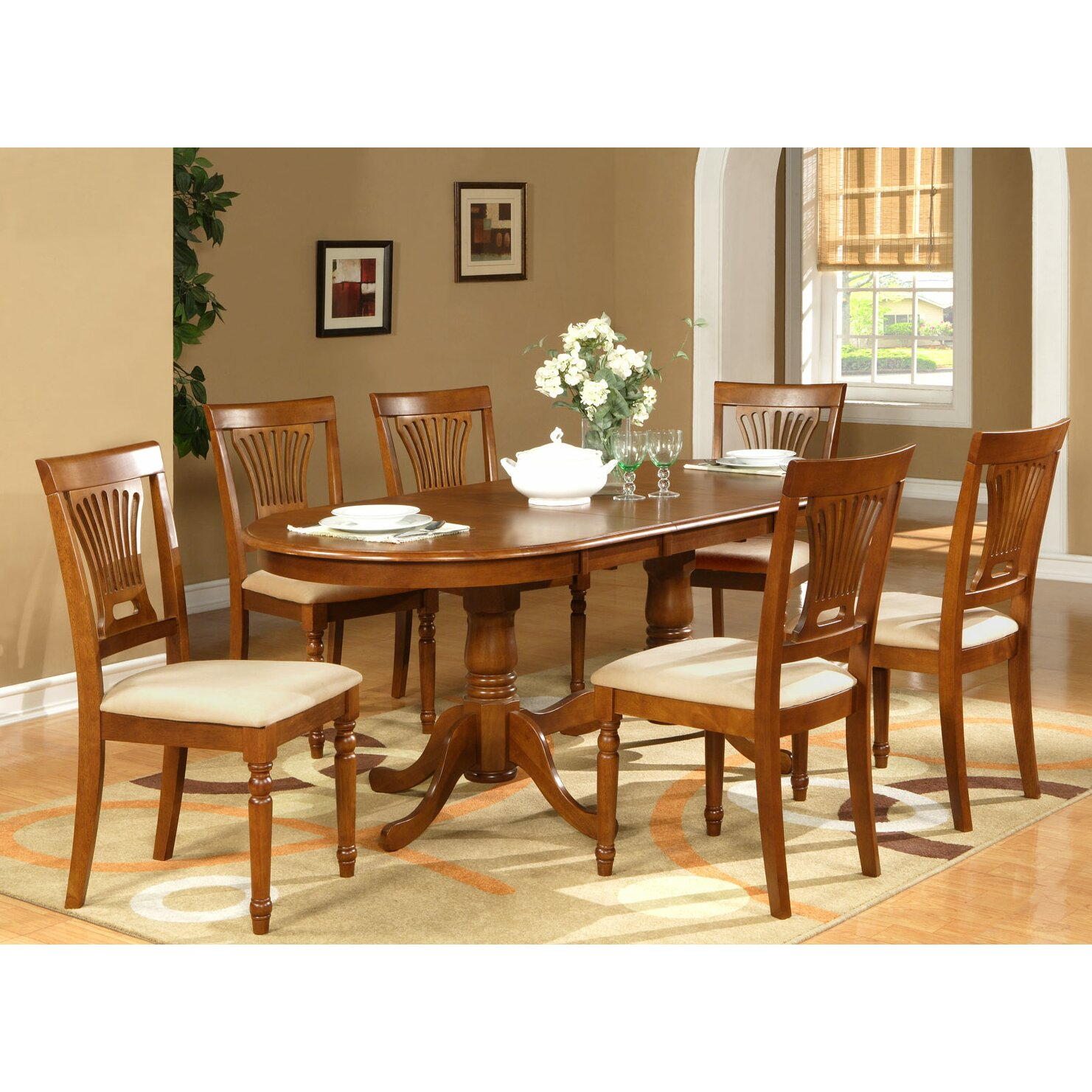Darby Home Co Germantown 7 Piece Dining Set amp Reviews