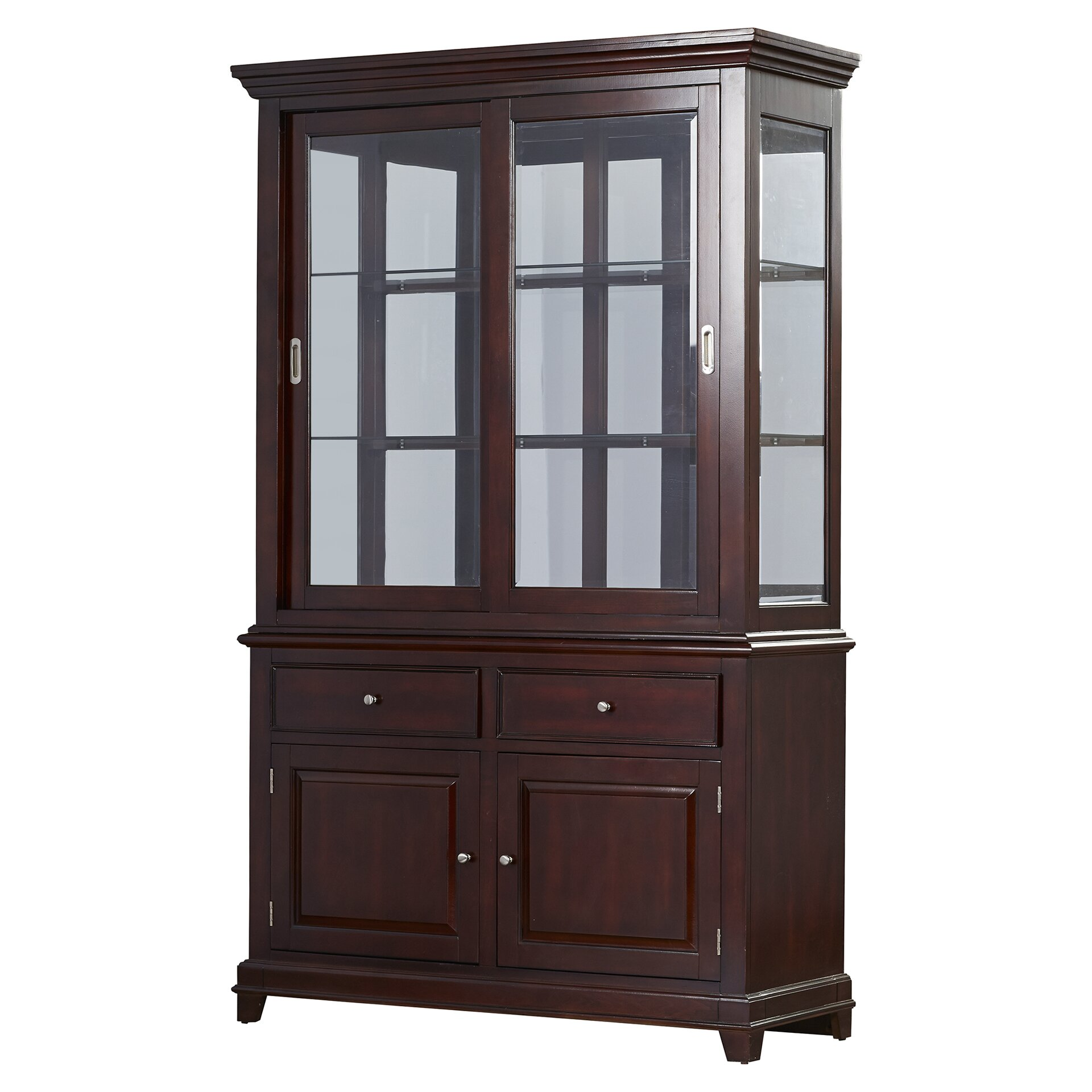 Darby Home Co Flexney China Cabinet Amp Reviews Wayfair