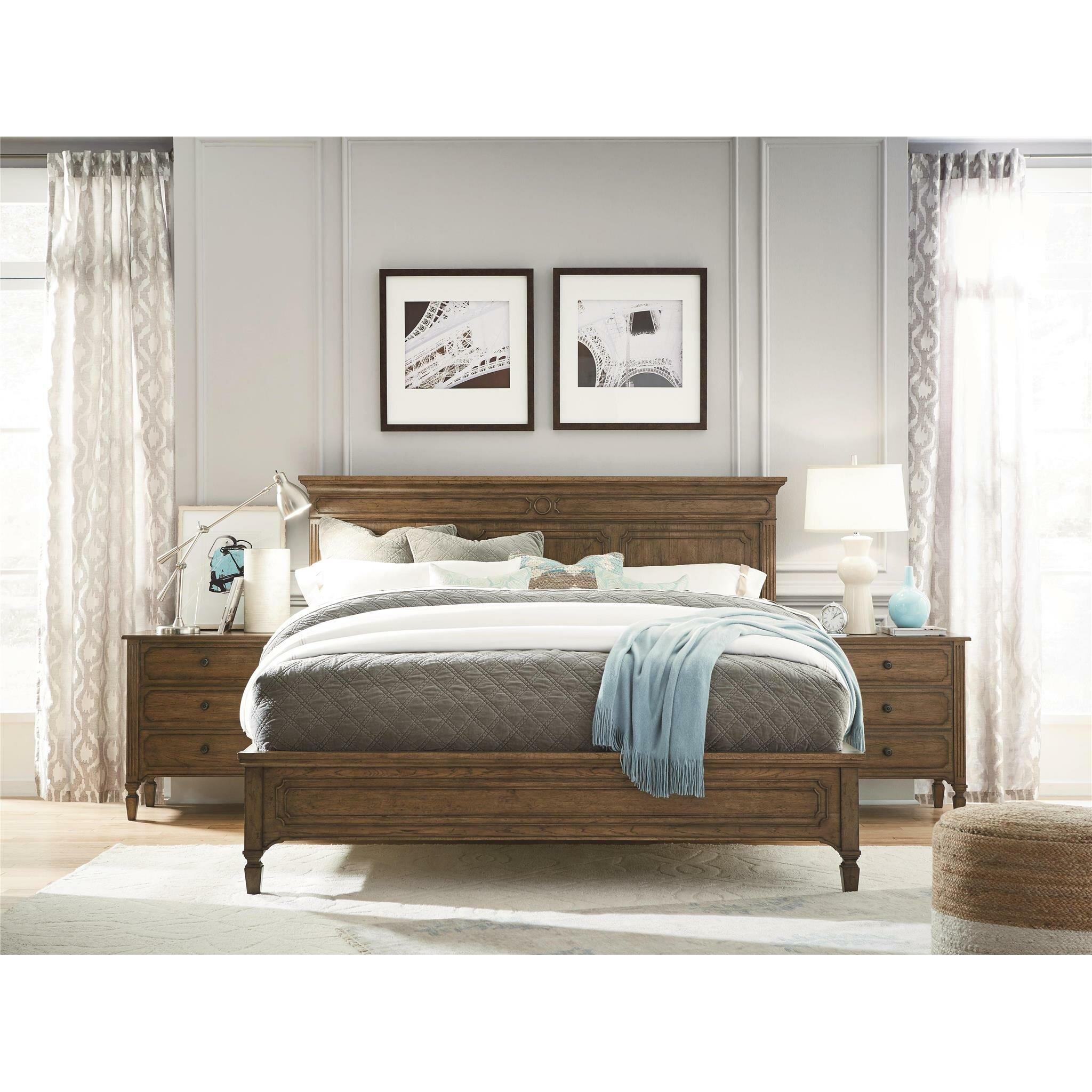 Darby Home Co Galyean Platform Customizable Bedroom Set Reviews Wayfair