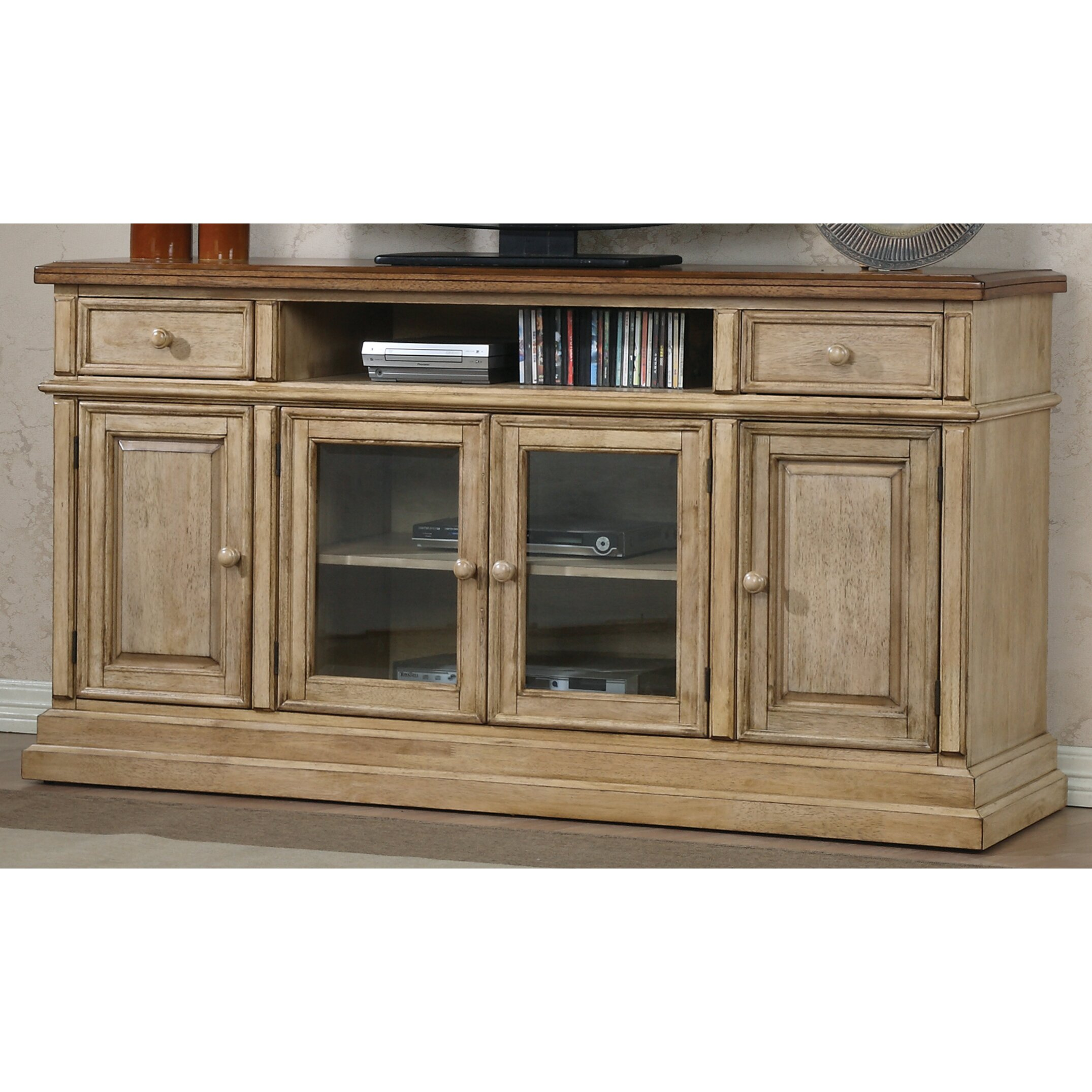 Darby Home Co Ivesdale 65 Media Tv Stand Reviews Wayfair