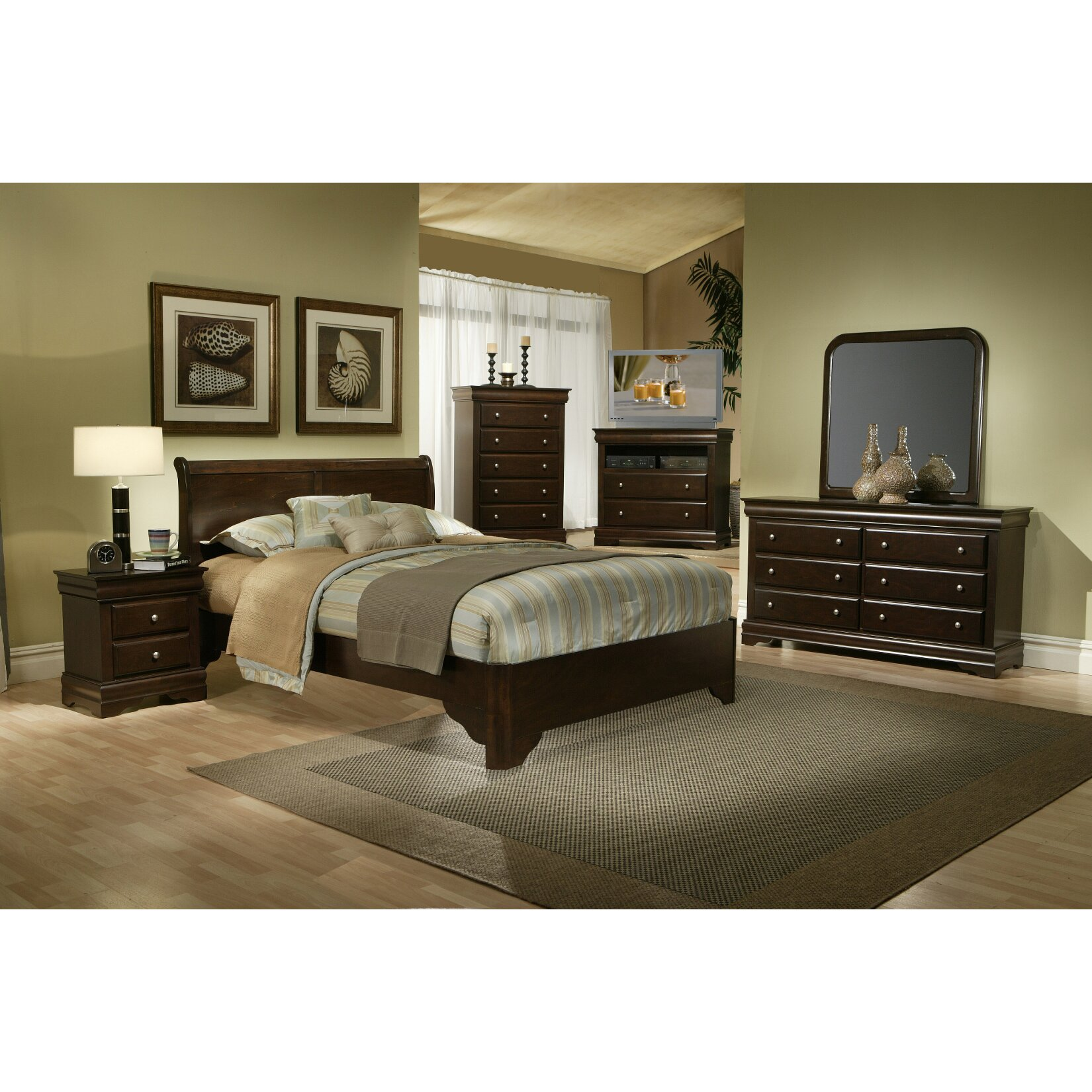 Darby Home Co Emden Panel Bed Reviews Wayfair